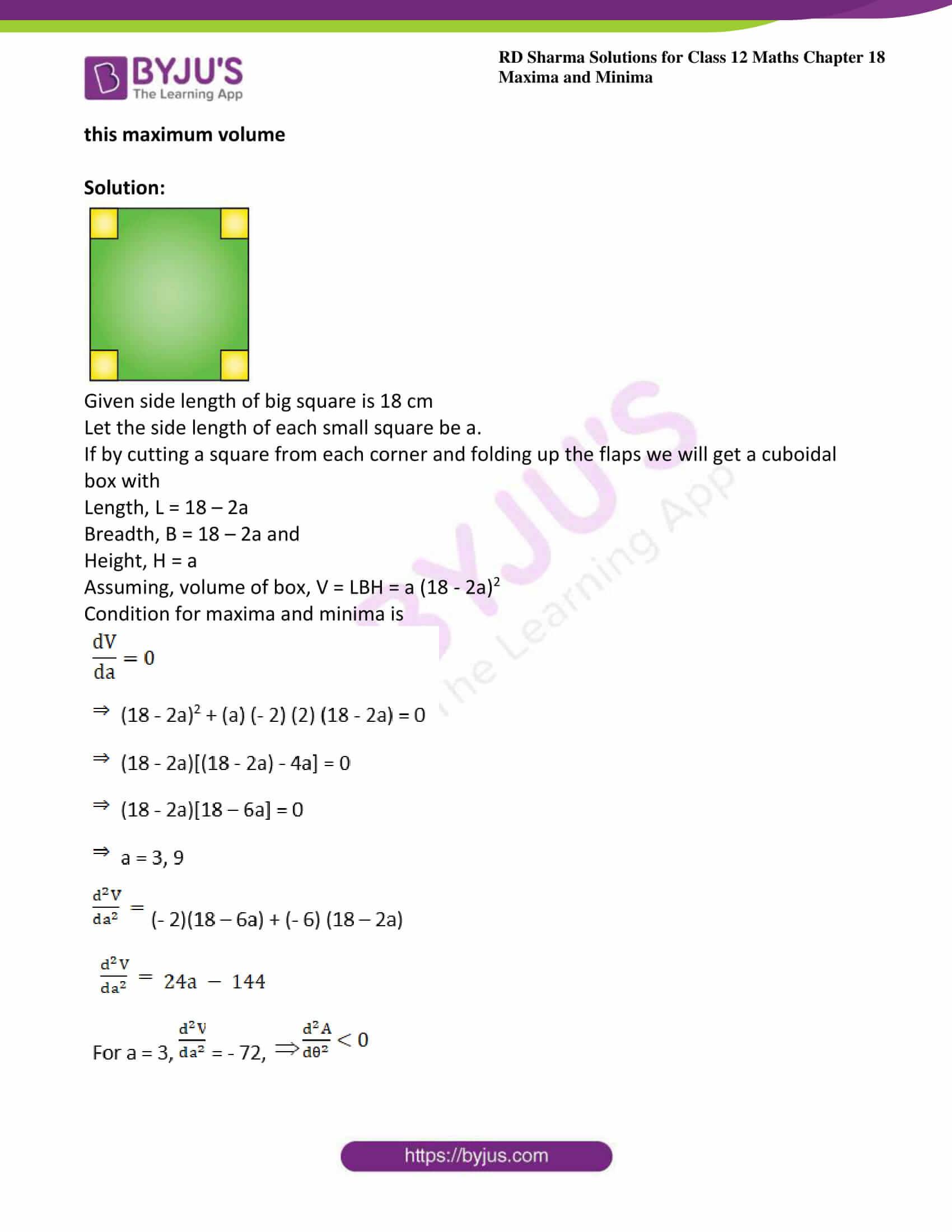 rd sharma class 12 maths sol chap 18 ex 5 16
