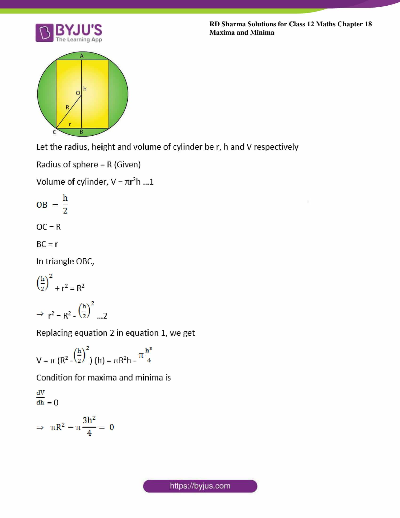 rd sharma class 12 maths sol chap 18 ex 5 23