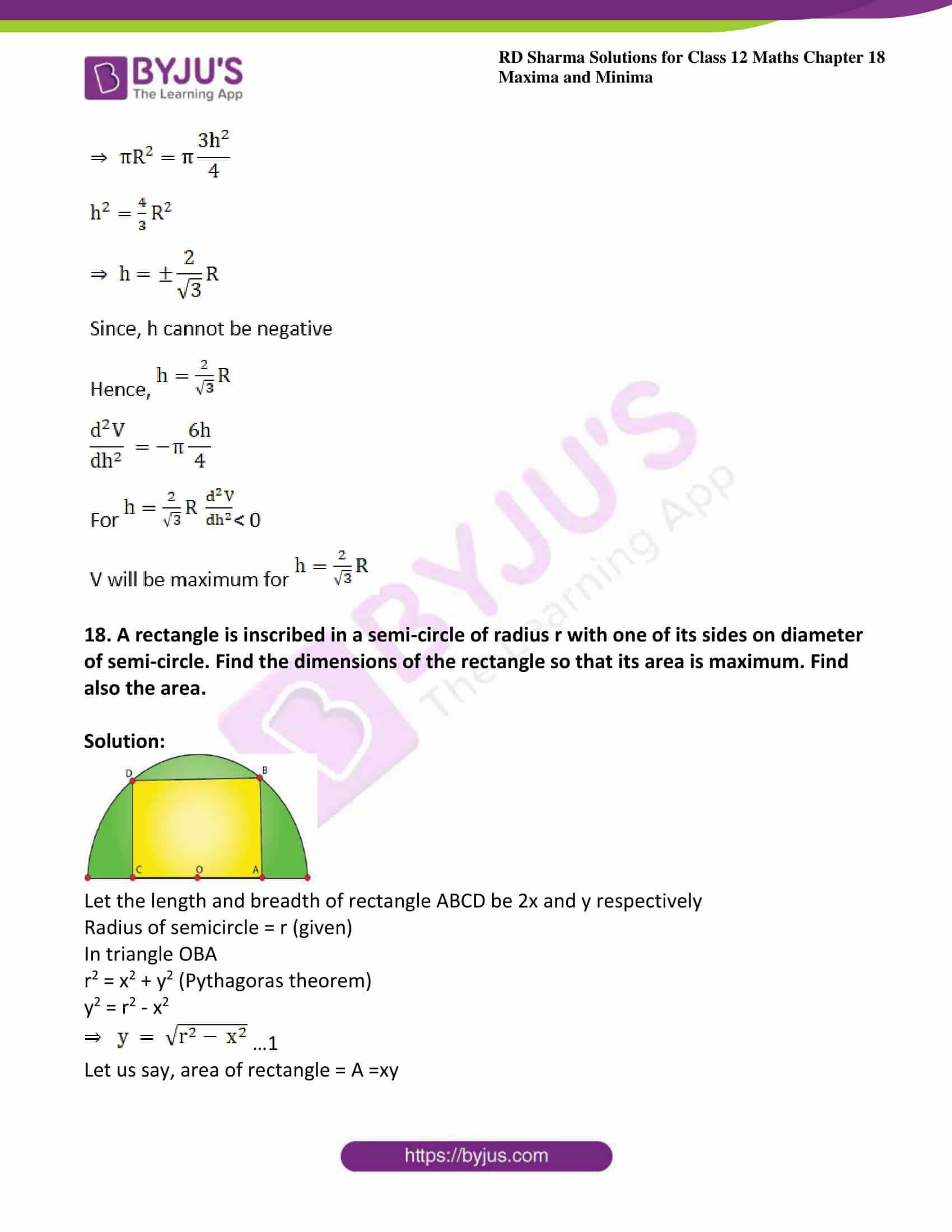 rd sharma class 12 maths sol chap 18 ex 5 24