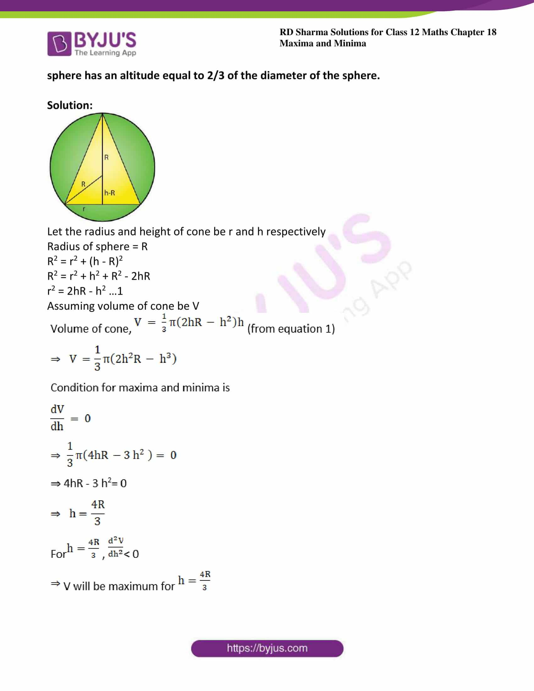 rd sharma class 12 maths sol chap 18 ex 5 28
