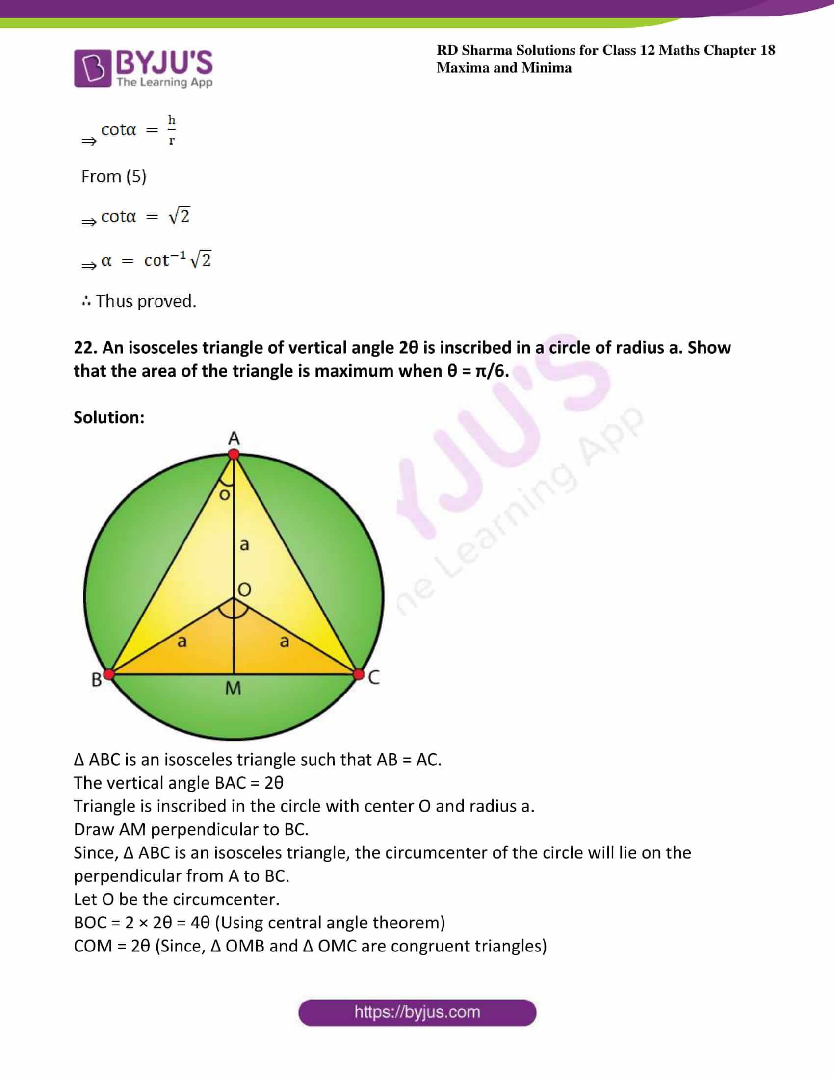 rd sharma class 12 maths sol chap 18 ex 5 32