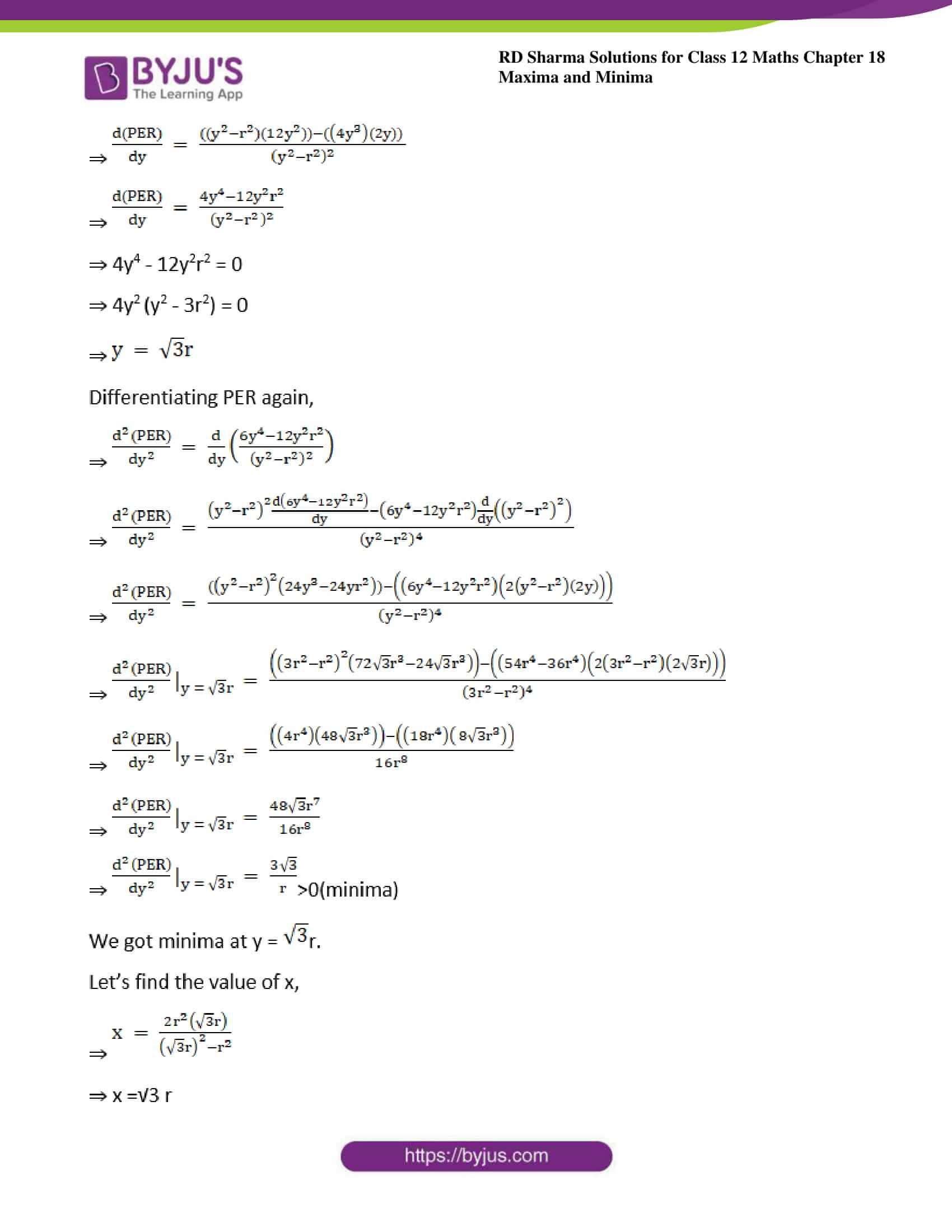 rd sharma class 12 maths sol chap 18 ex 5 37