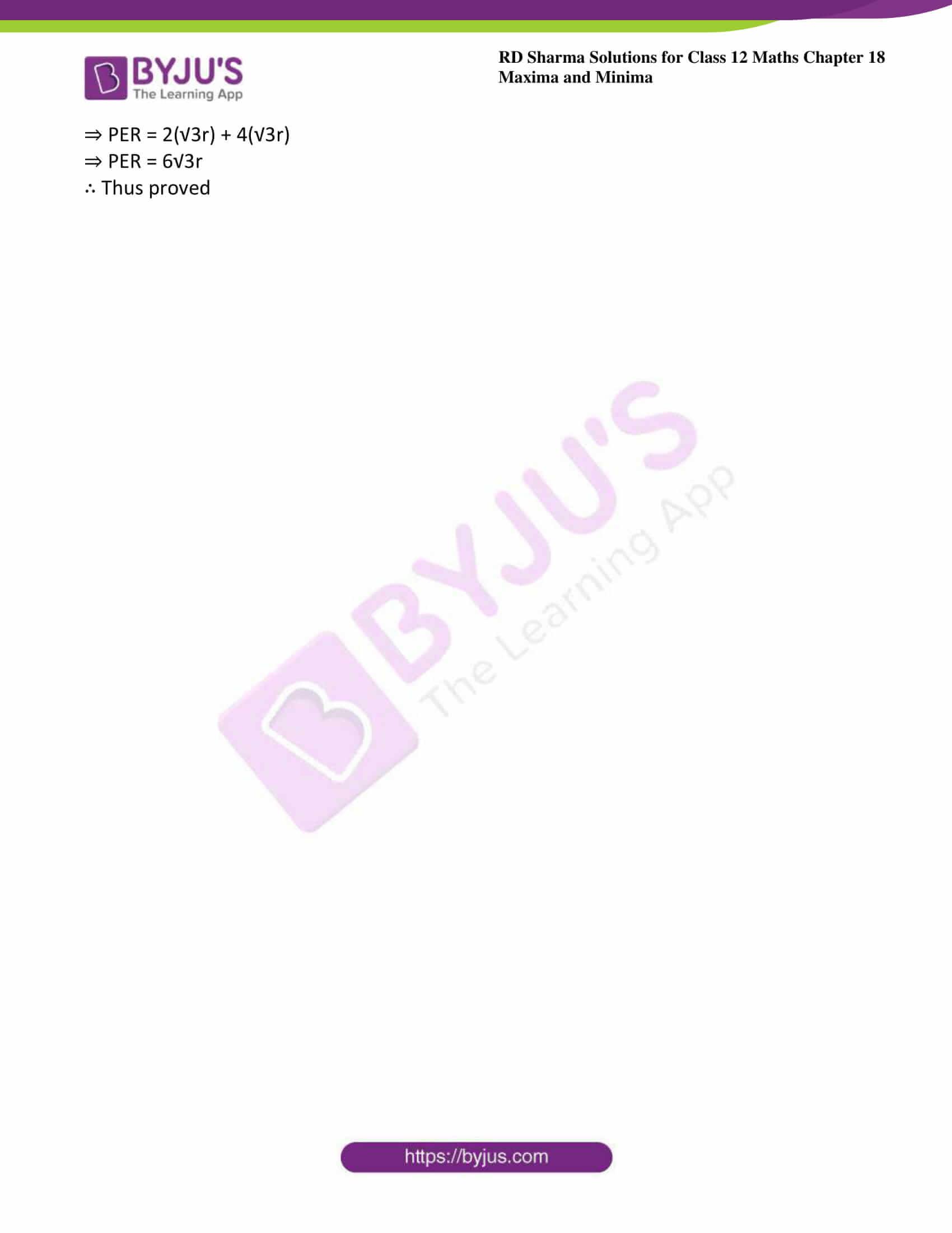 rd sharma class 12 maths sol chap 18 ex 5 38