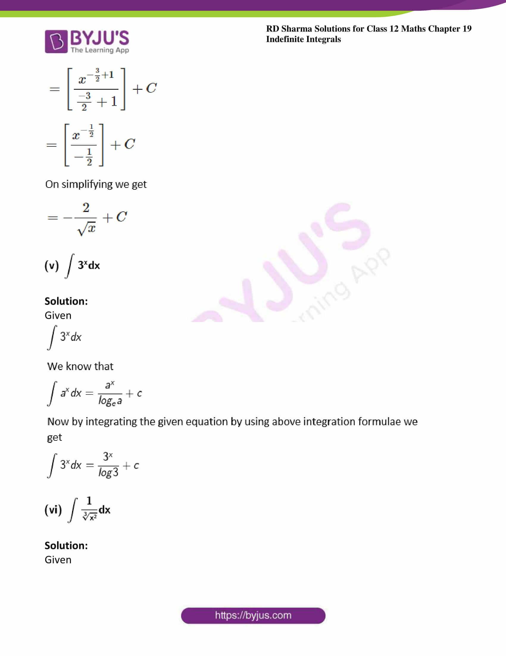 rd sharma class 12 maths sol chap 19 ex 1 3