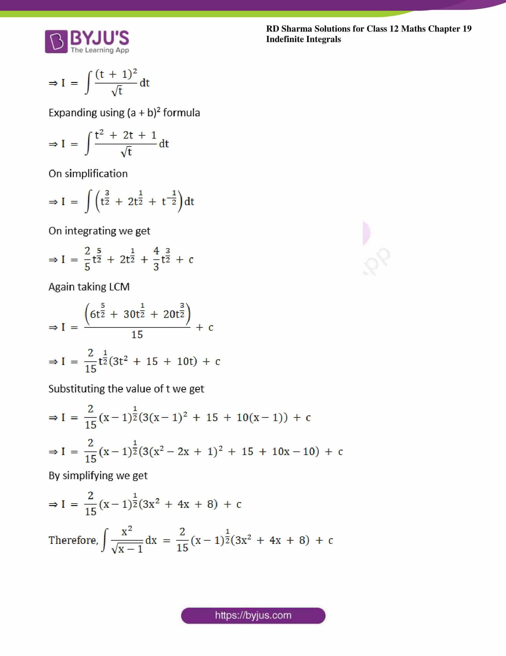 rd sharma class 12 maths sol chap 19 ex 10 2