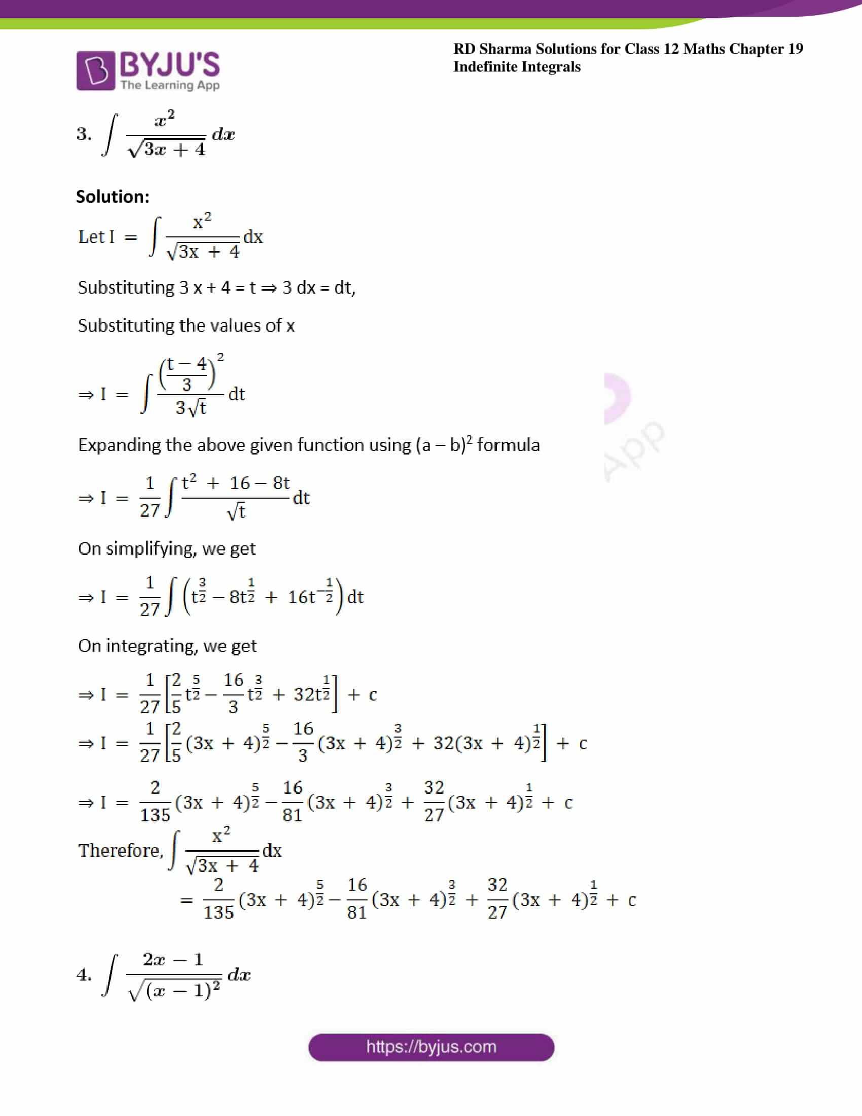 rd sharma class 12 maths sol chap 19 ex 10 3