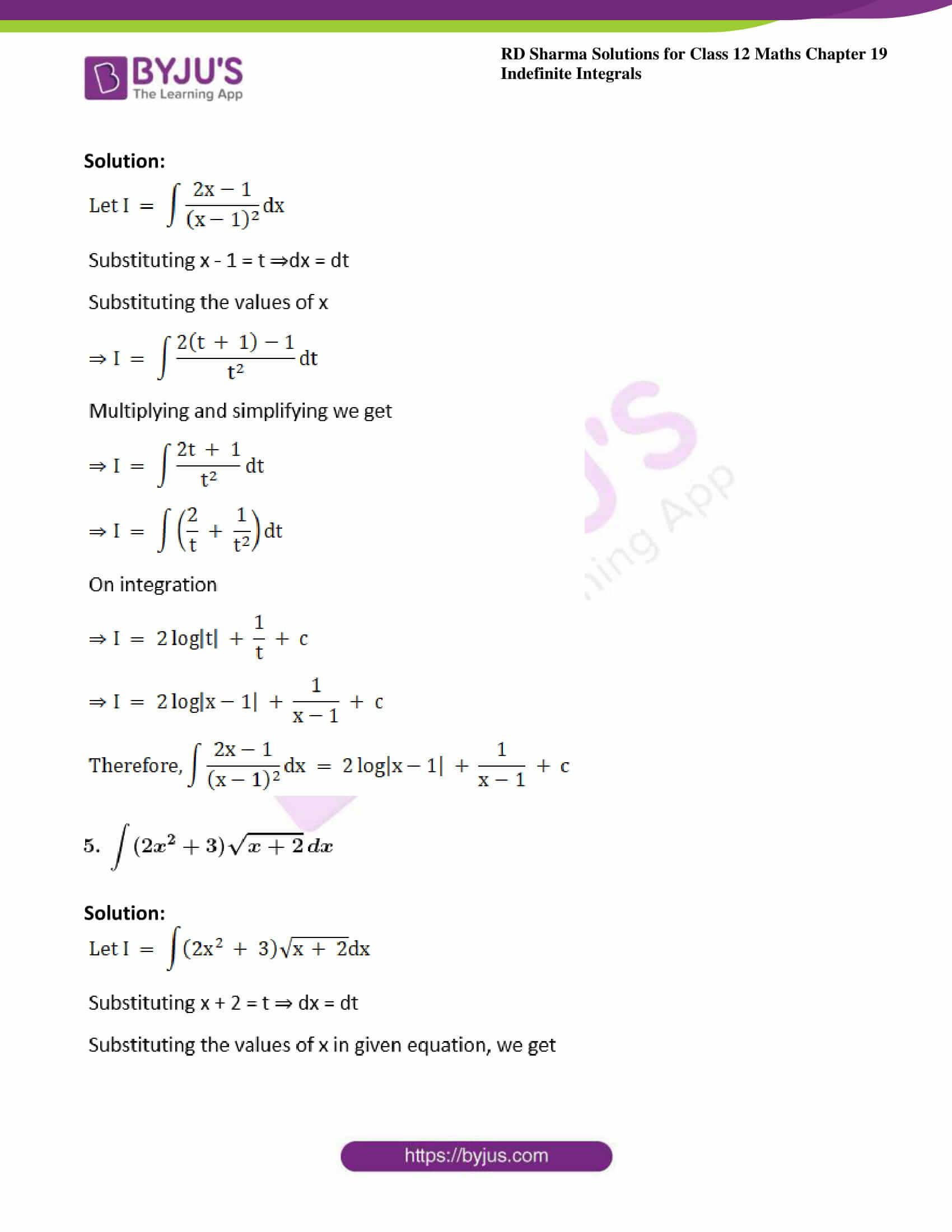 rd sharma class 12 maths sol chap 19 ex 10 4