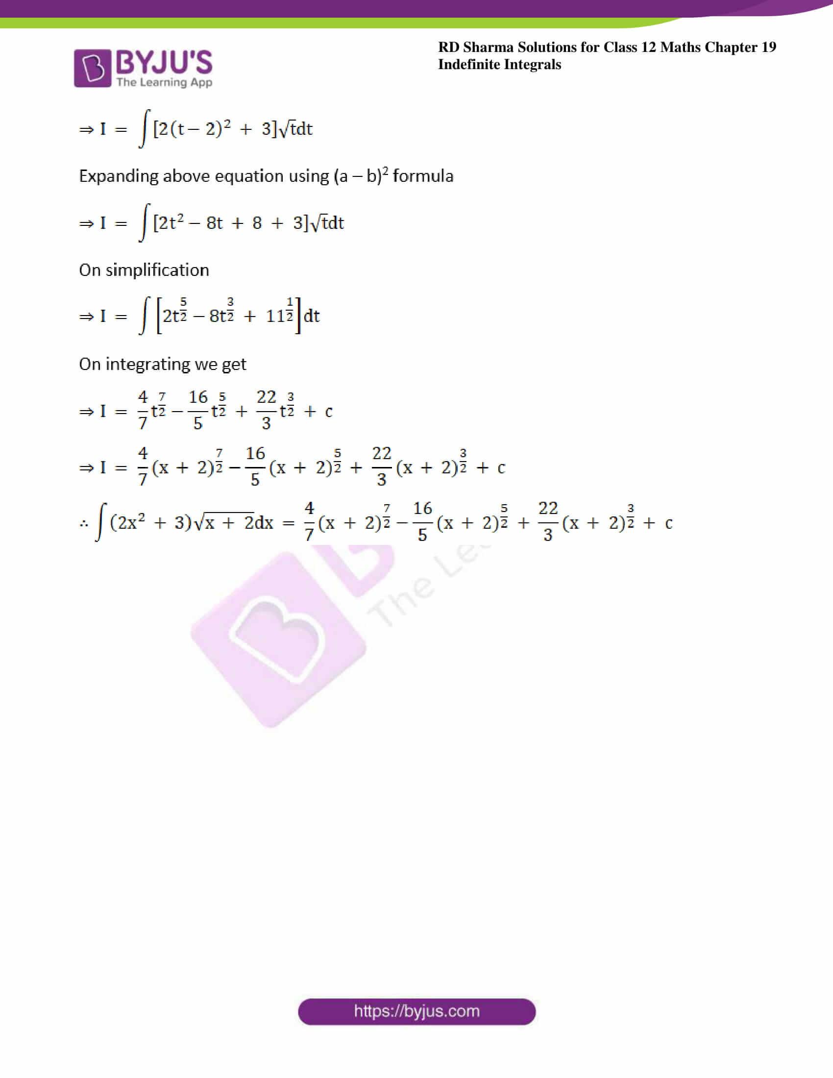 rd sharma class 12 maths sol chap 19 ex 10 5