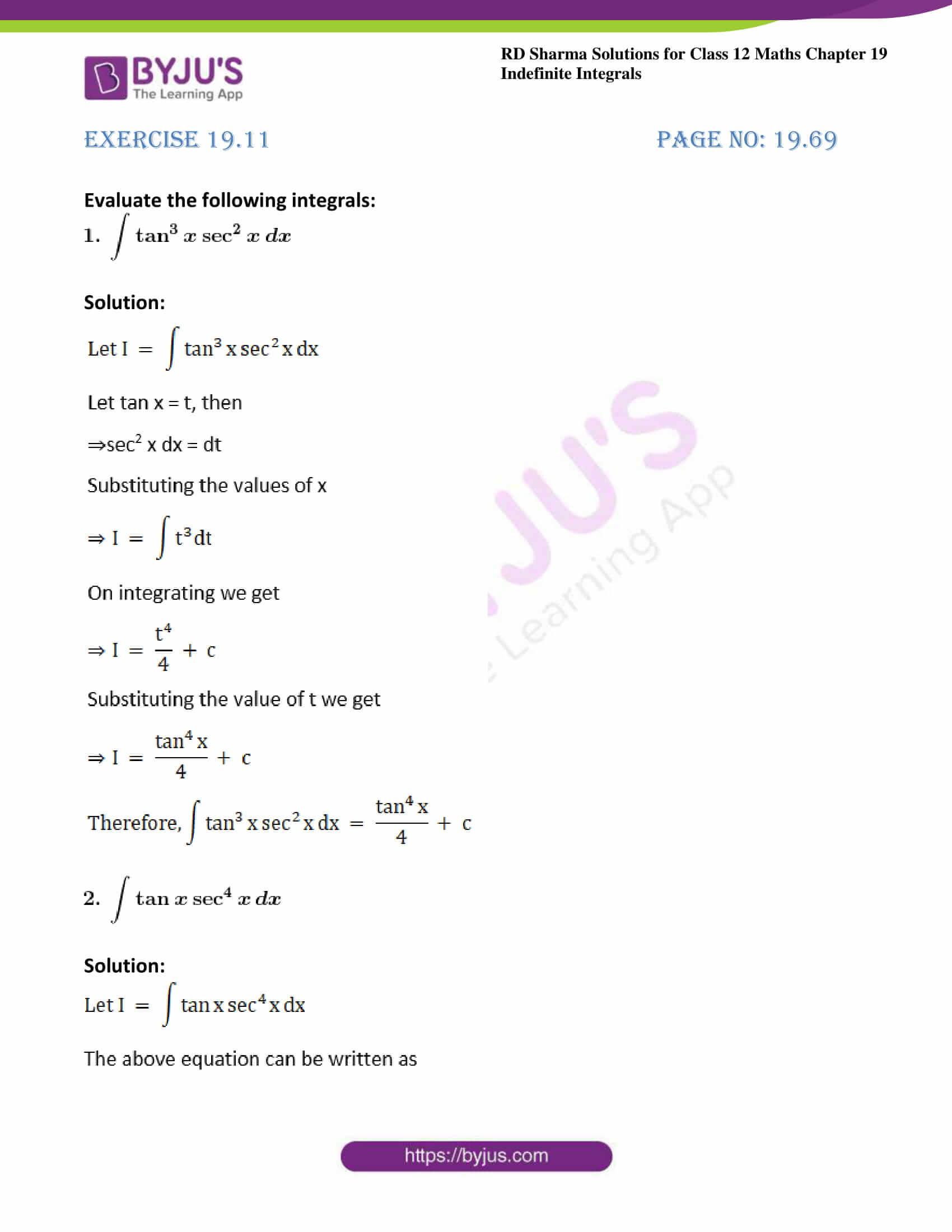 rd sharma class 12 maths sol chap 19 ex 11 1