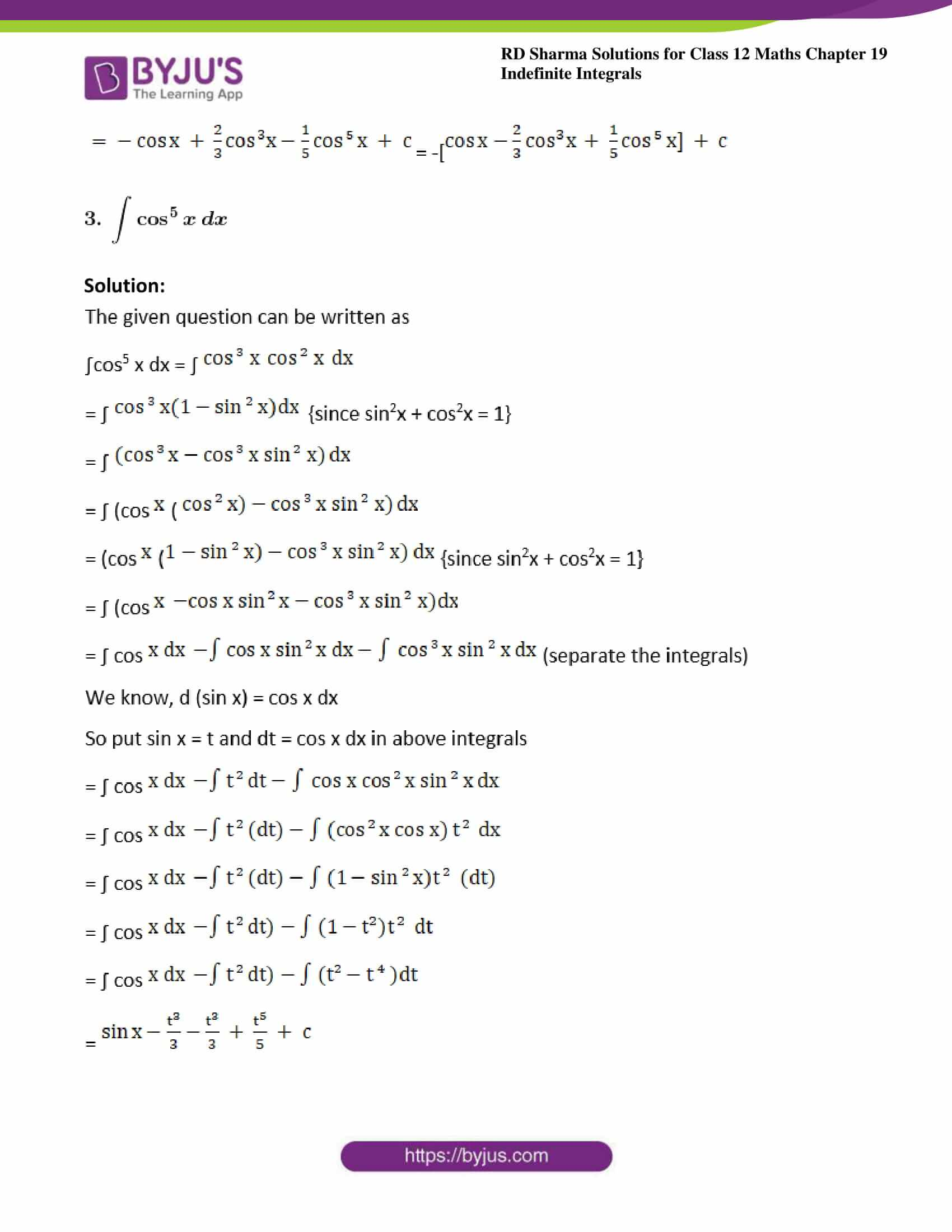 rd sharma class 12 maths sol chap 19 ex 12 3