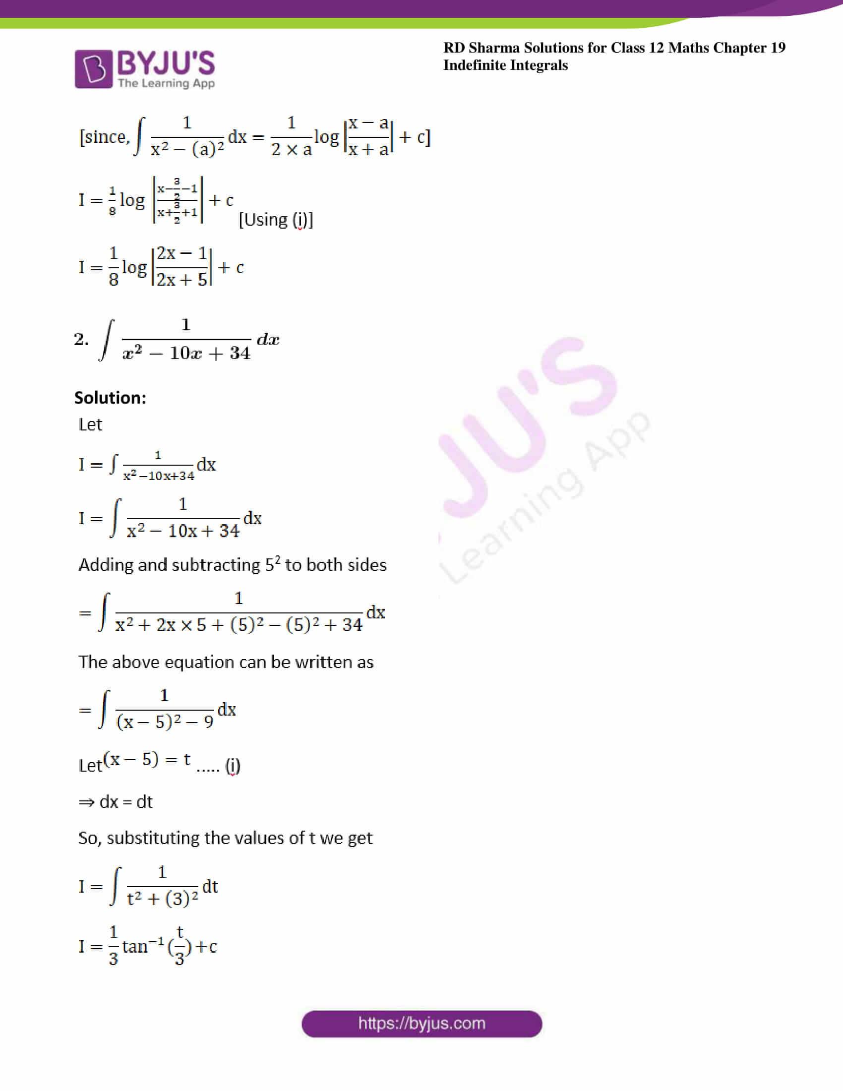rd sharma class 12 maths sol chap 19 ex 15 2