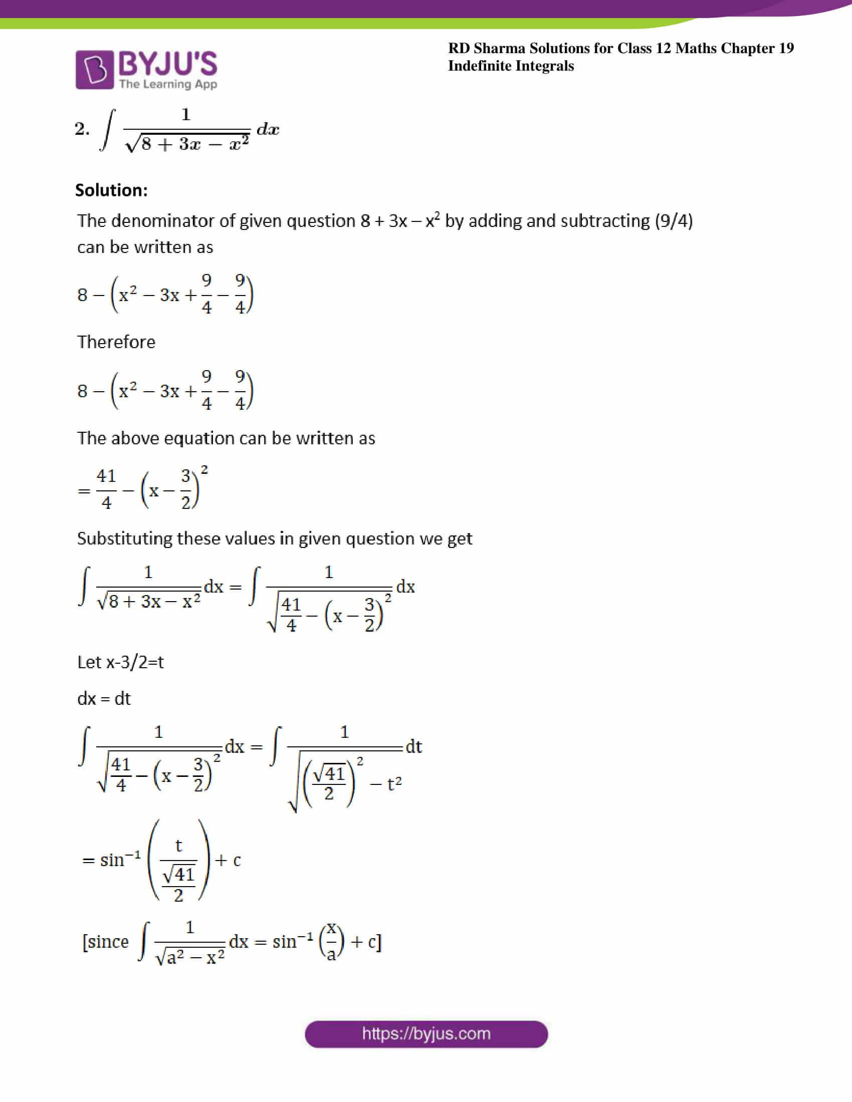 rd sharma class 12 maths sol chap 19 ex 17 2