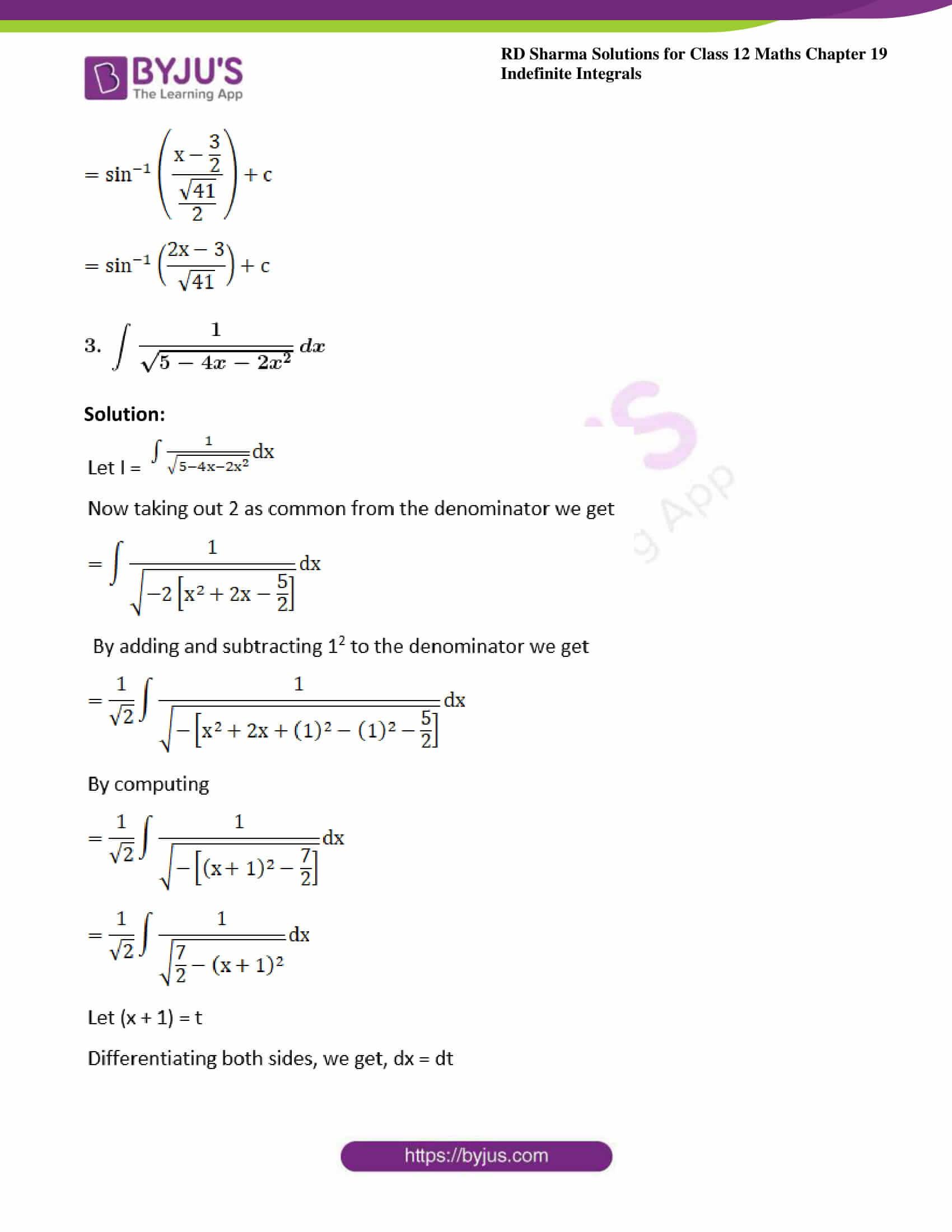 rd sharma class 12 maths sol chap 19 ex 17 3