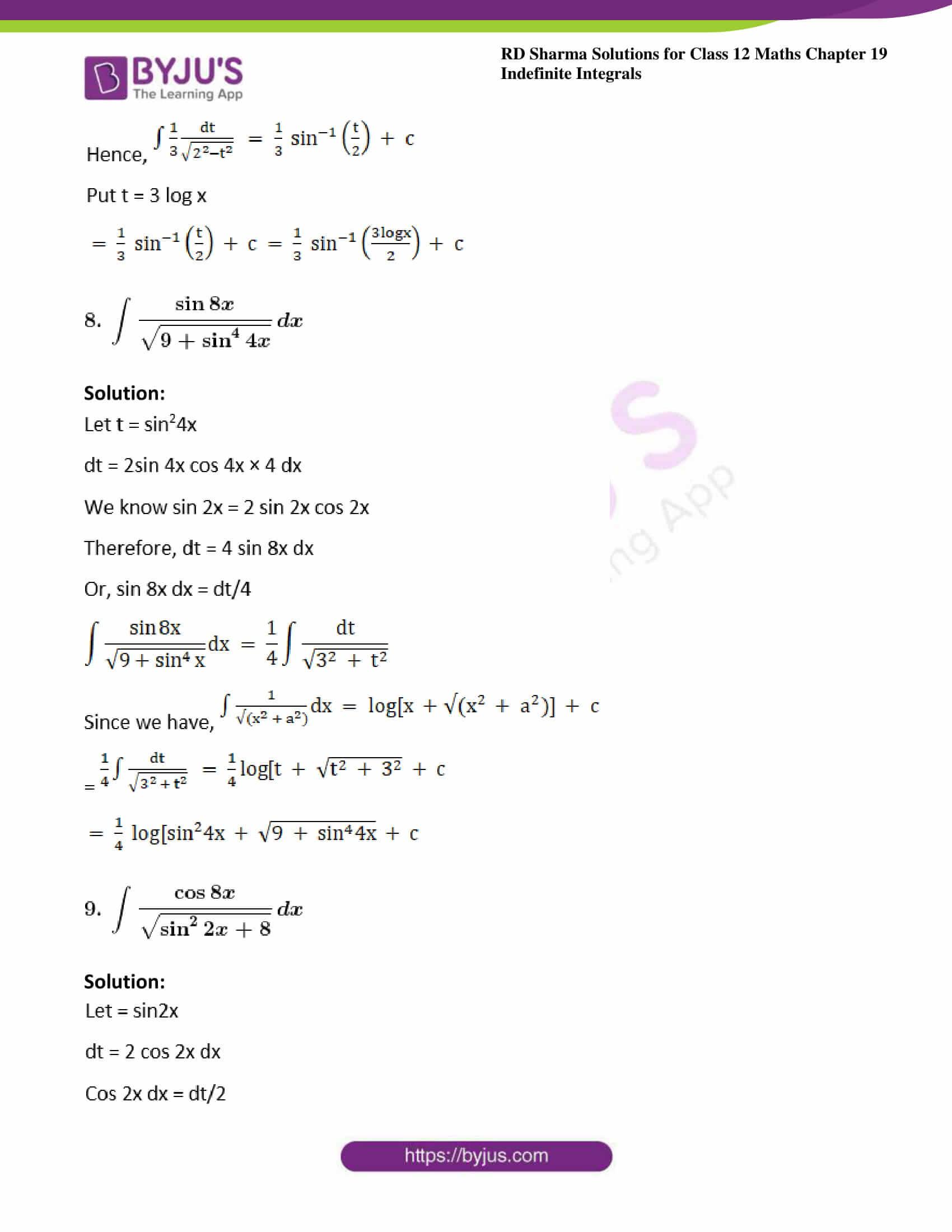 rd sharma class 12 maths sol chap 19 ex 18 6