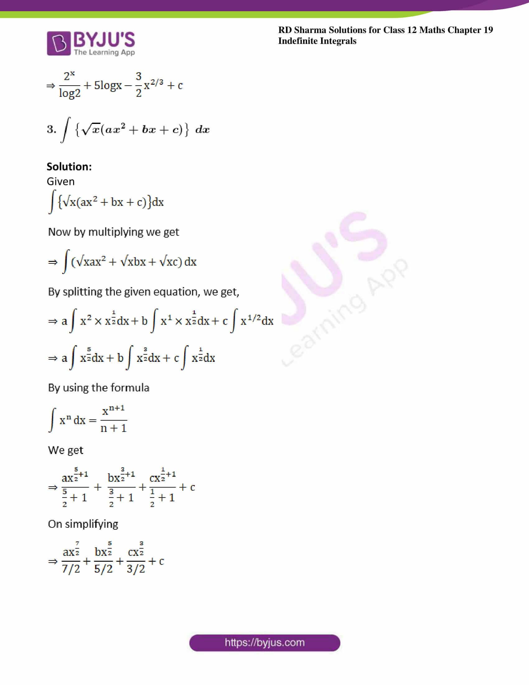rd sharma class 12 maths sol chap 19 ex 2 03