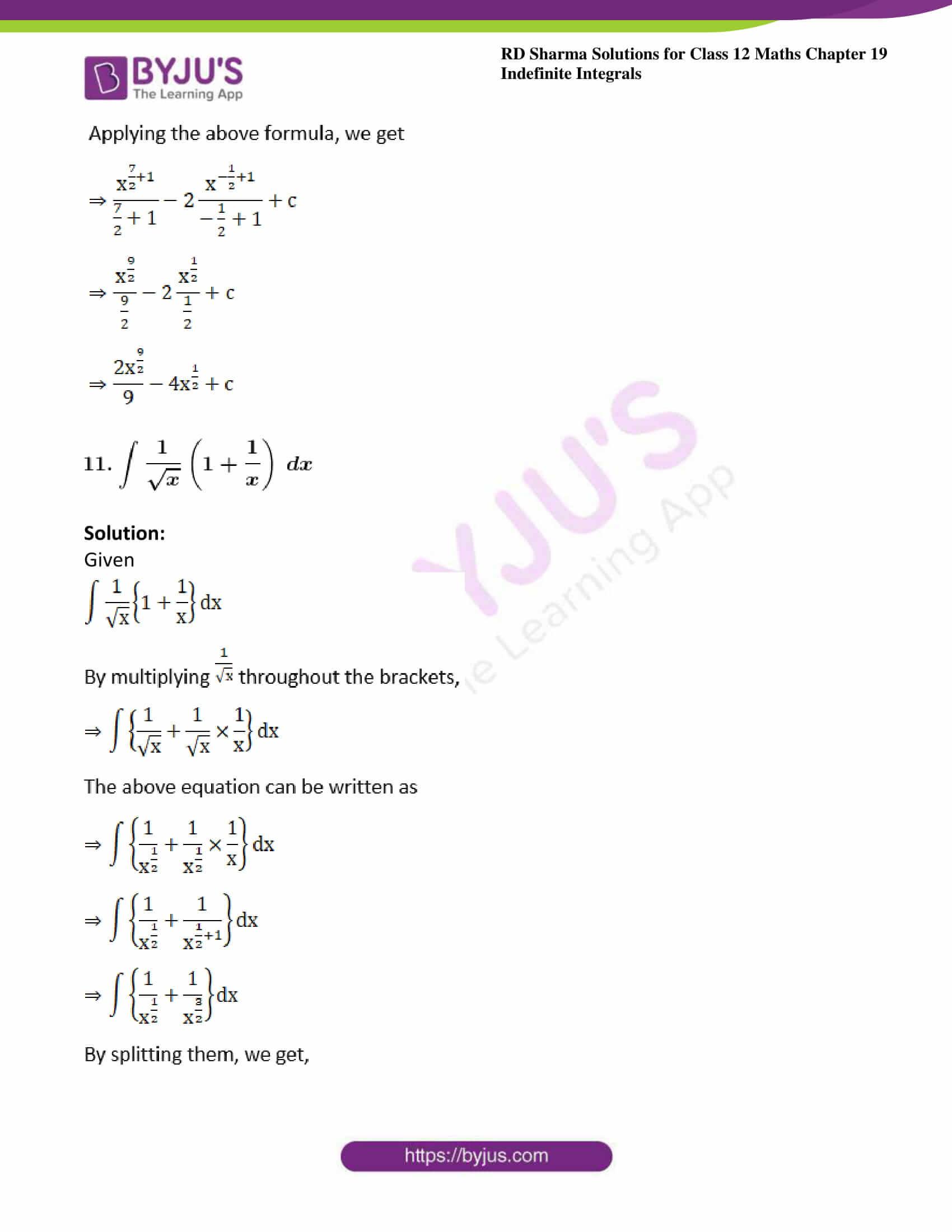 rd sharma class 12 maths sol chap 19 ex 2 10