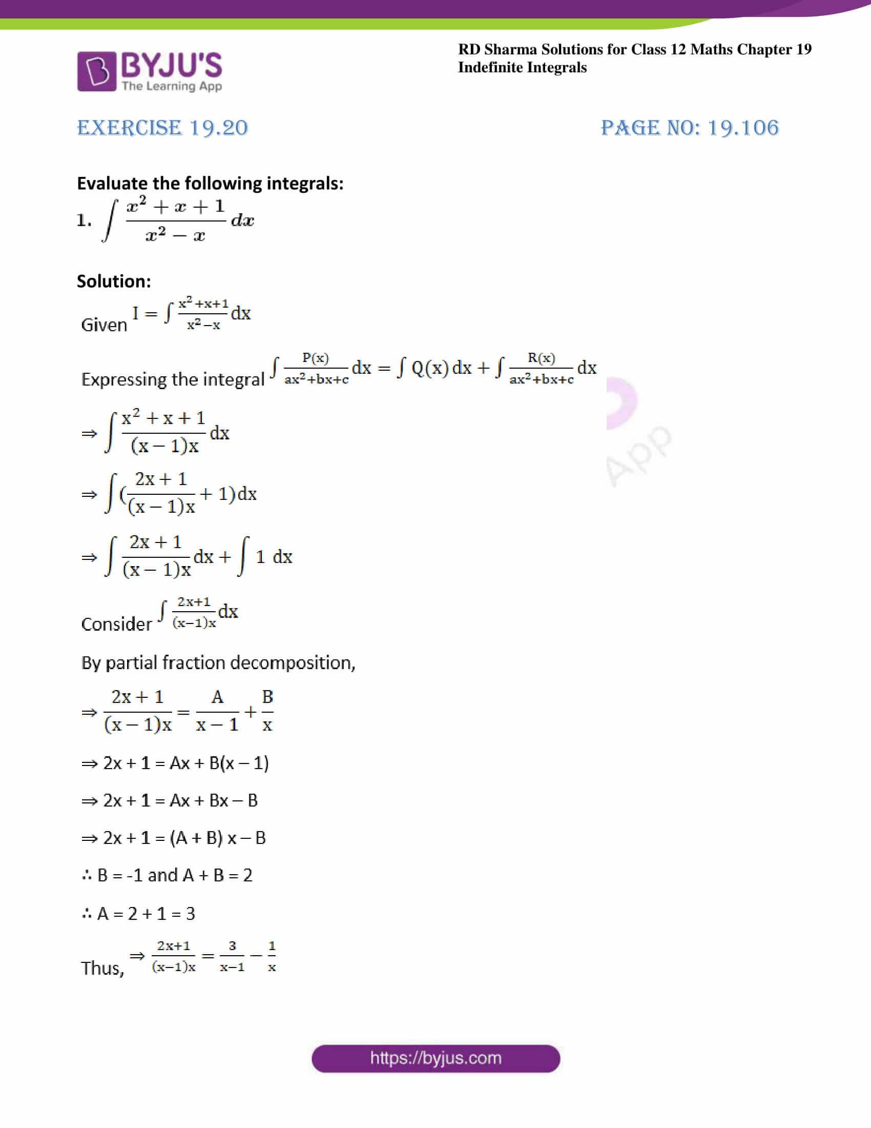 rd sharma class 12 maths sol chap 19 ex 20 01
