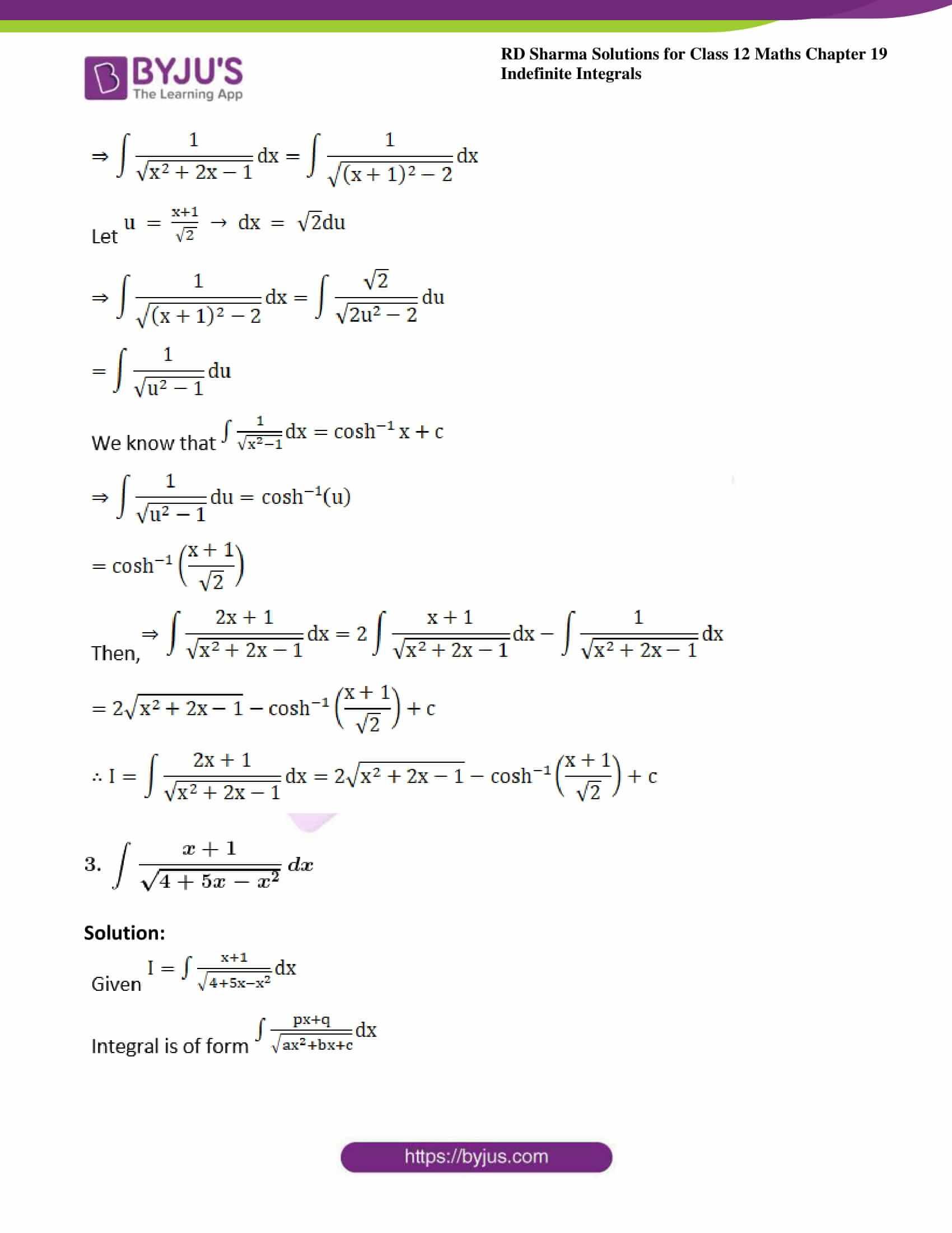 rd sharma class 12 maths sol chap 19 ex 21 4