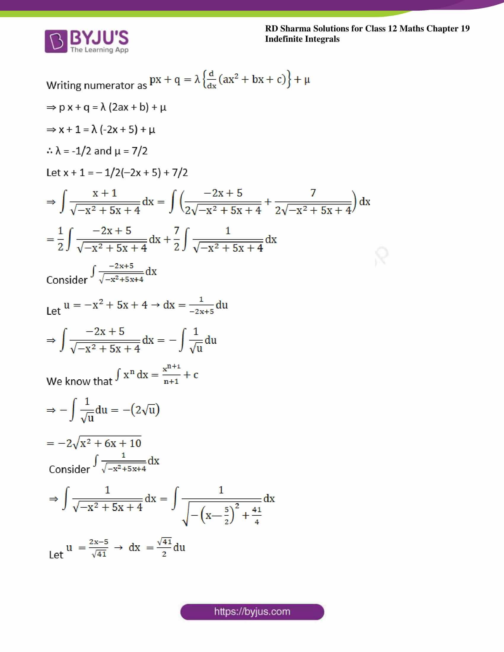 rd sharma class 12 maths sol chap 19 ex 21 5