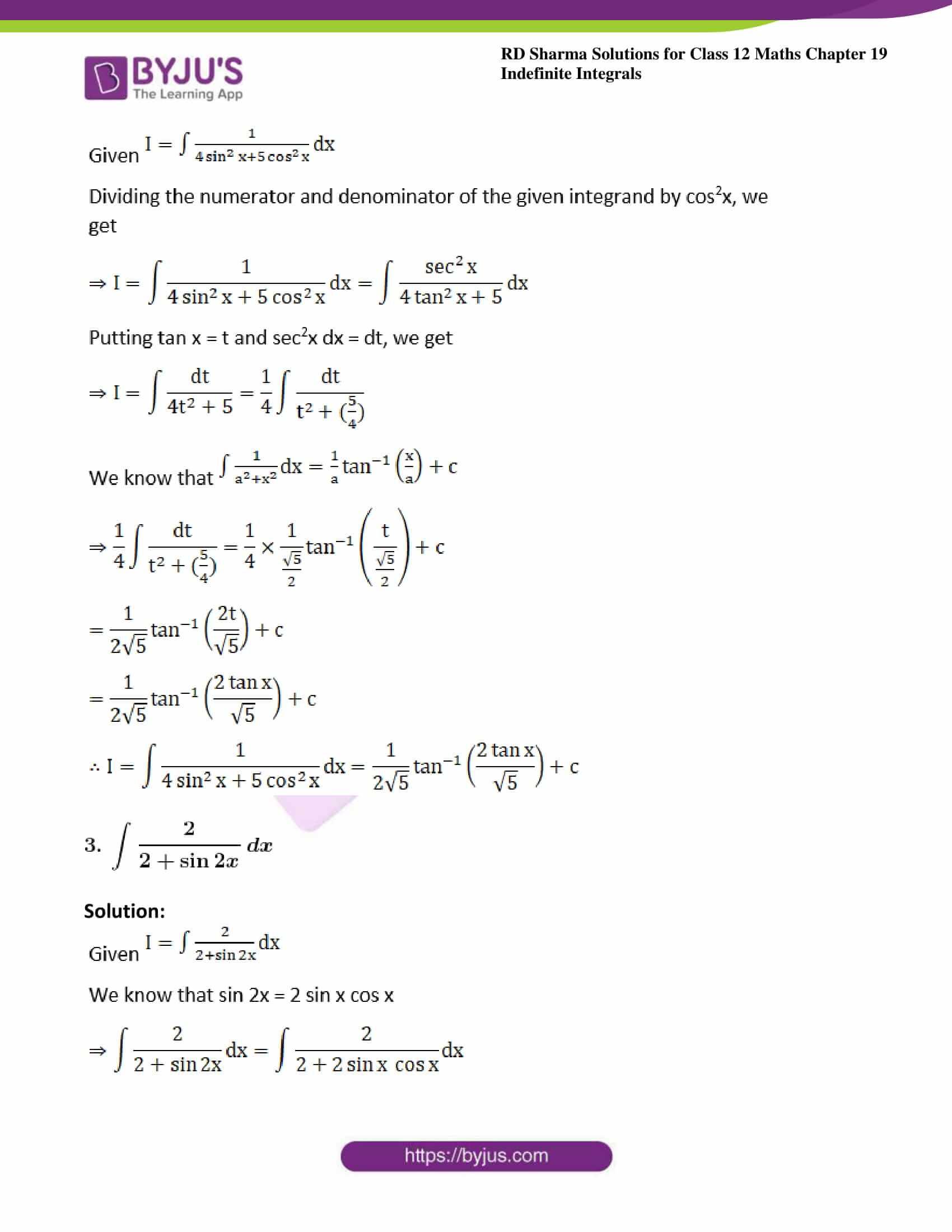rd sharma class 12 maths sol chap 19 ex 22 2