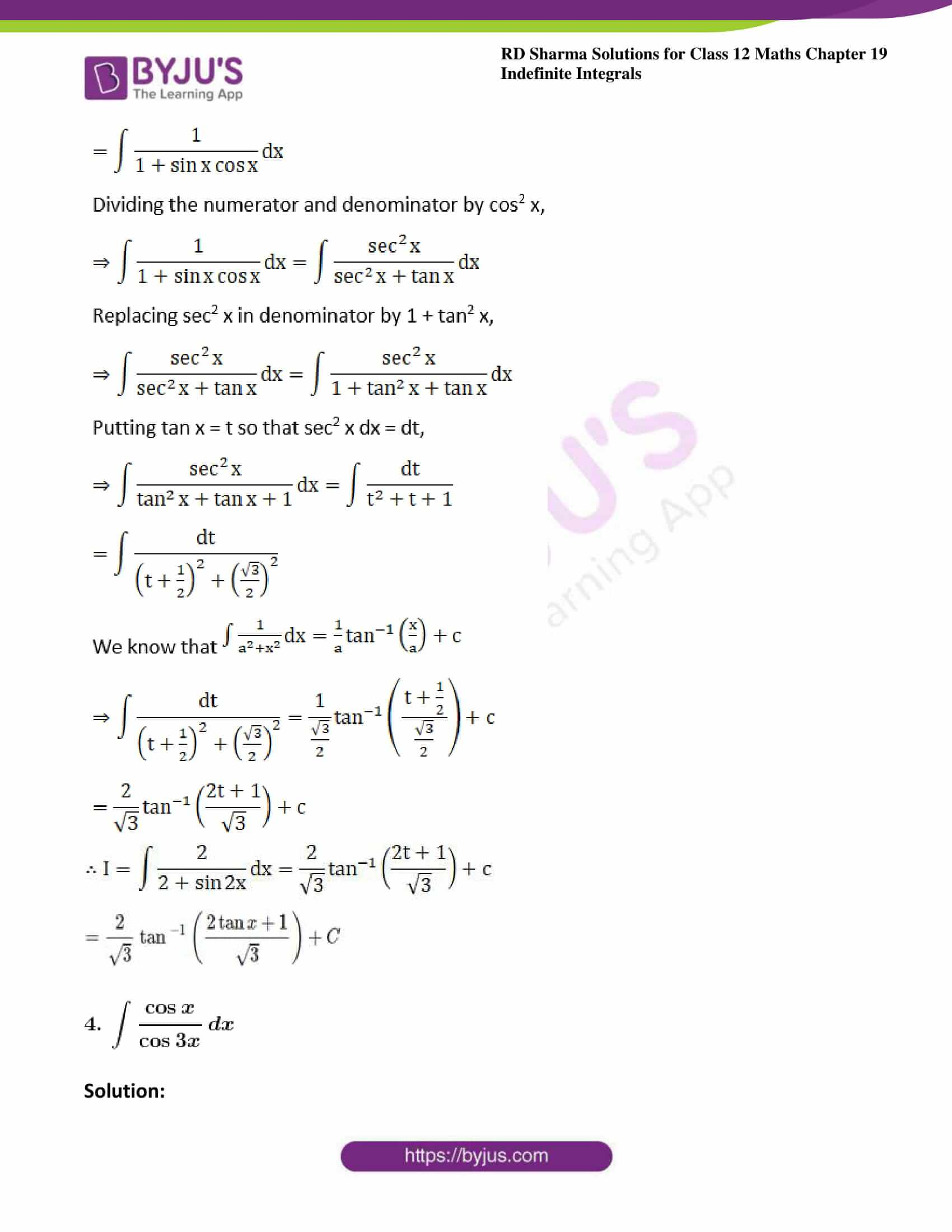 rd sharma class 12 maths sol chap 19 ex 22 3