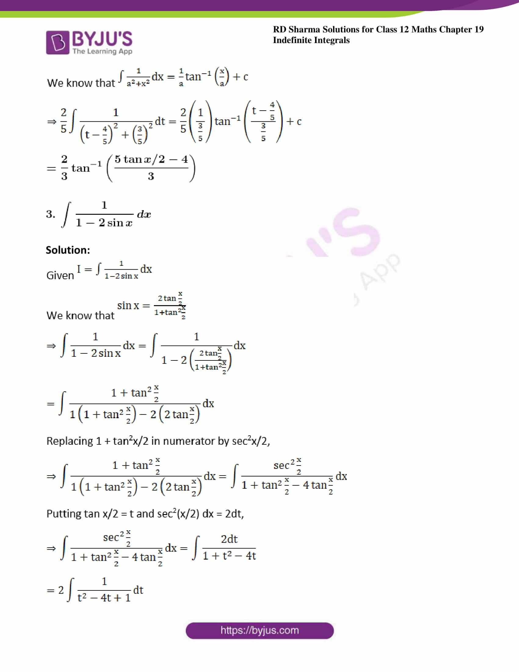 rd sharma class 12 maths sol chap 19 ex 23 3