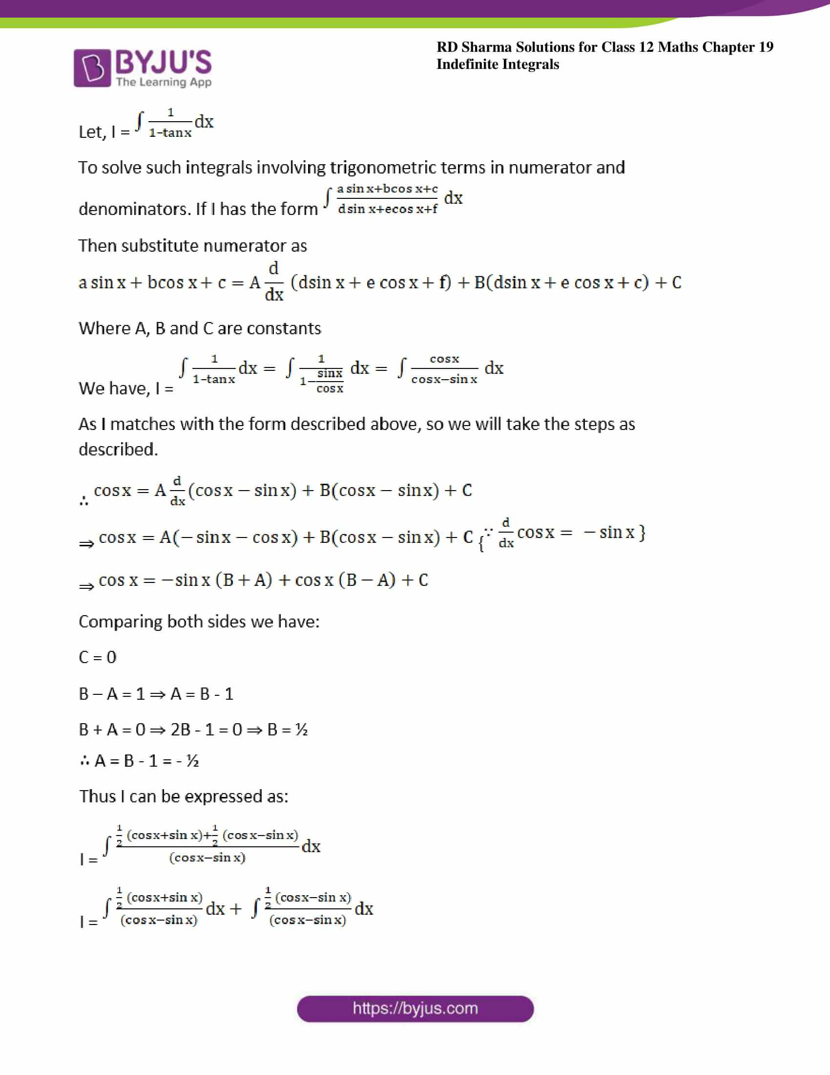rd sharma class 12 maths sol chap 19 ex 24 03