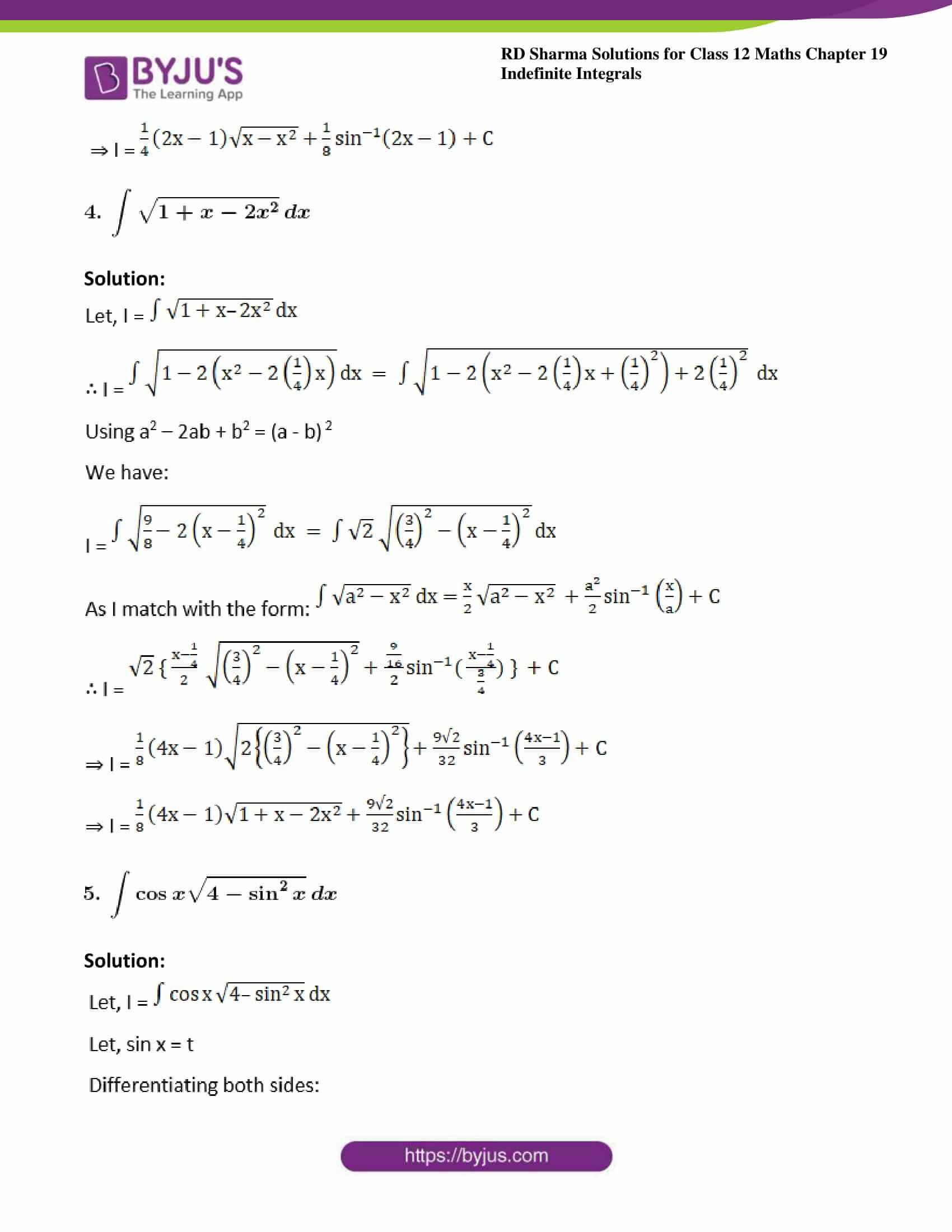 rd sharma class 12 maths sol chap 19 ex 28 3