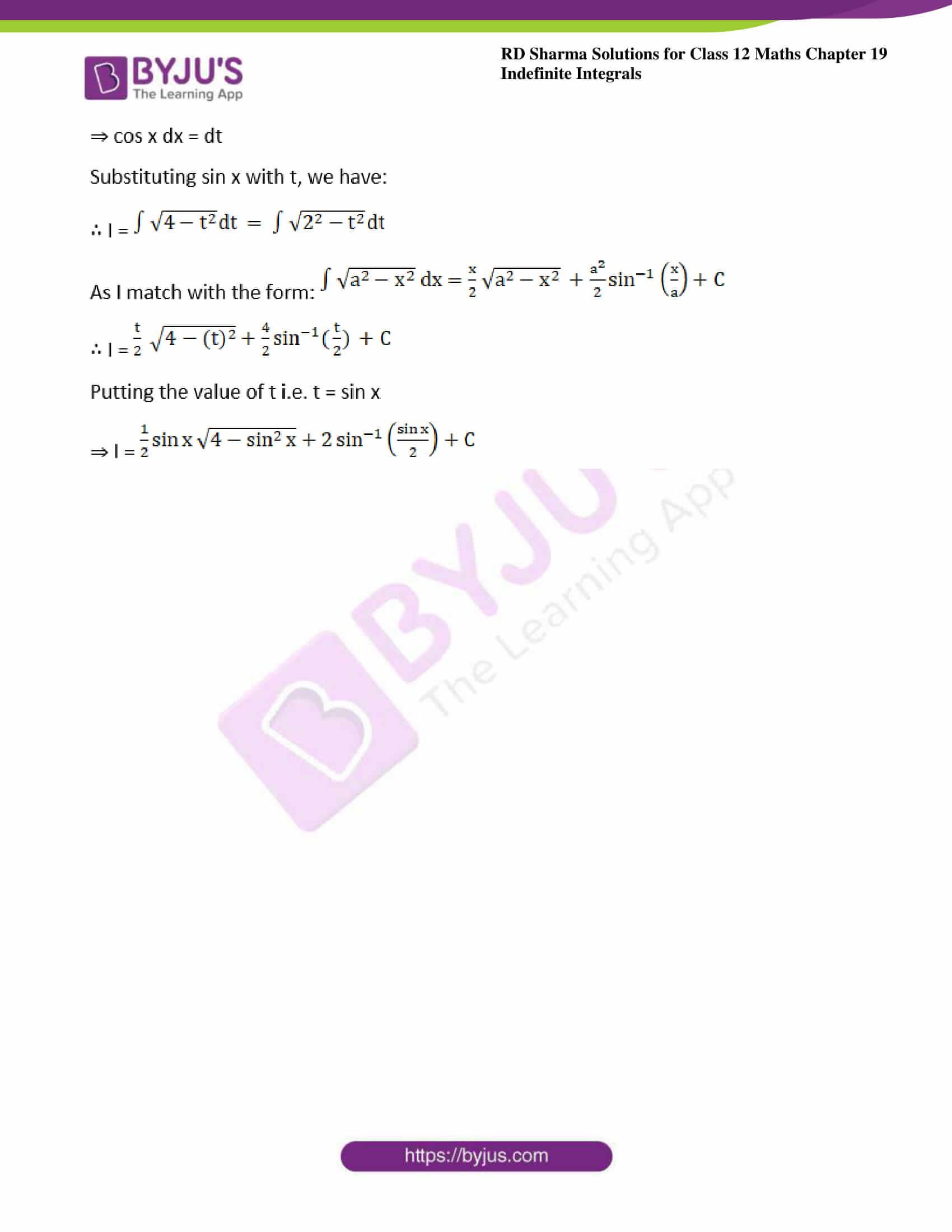 rd sharma class 12 maths sol chap 19 ex 28 4