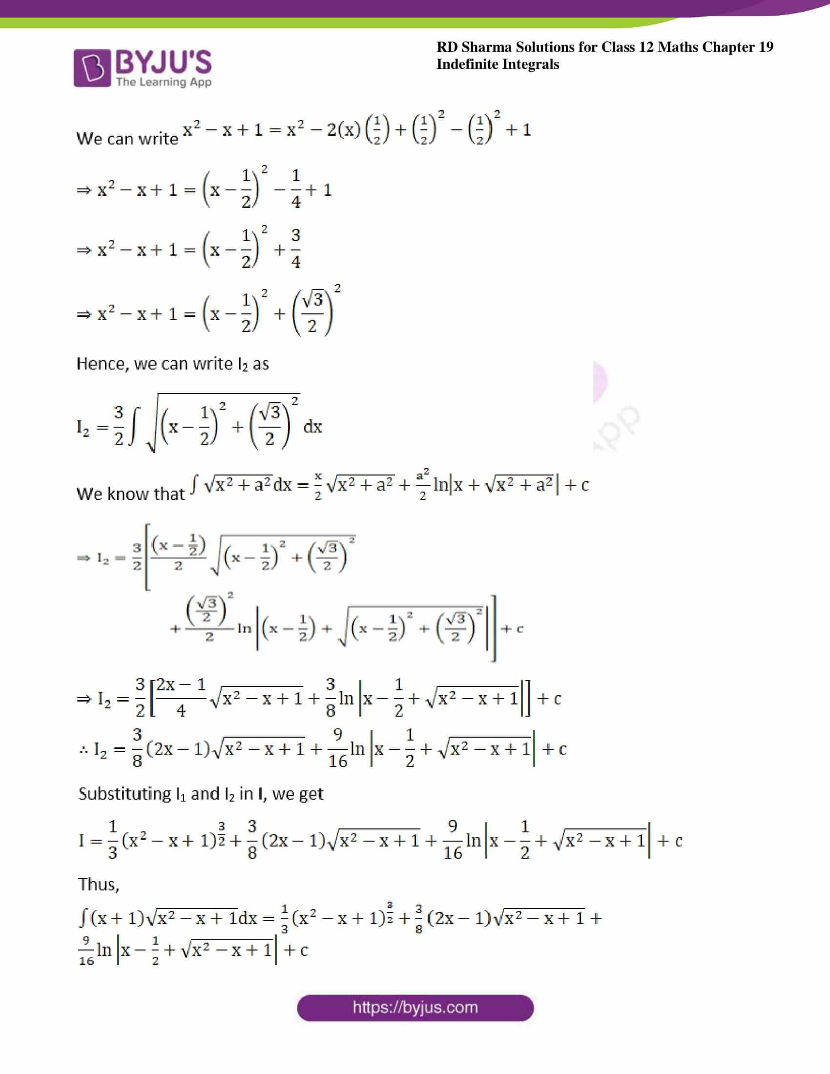rd sharma class 12 maths sol chap 19 ex 29 03