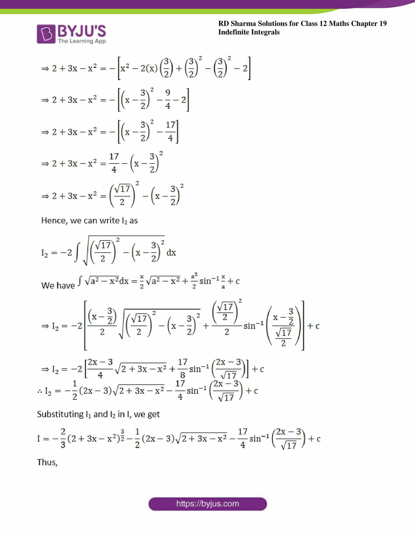 rd sharma class 12 maths sol chap 19 ex 29 09