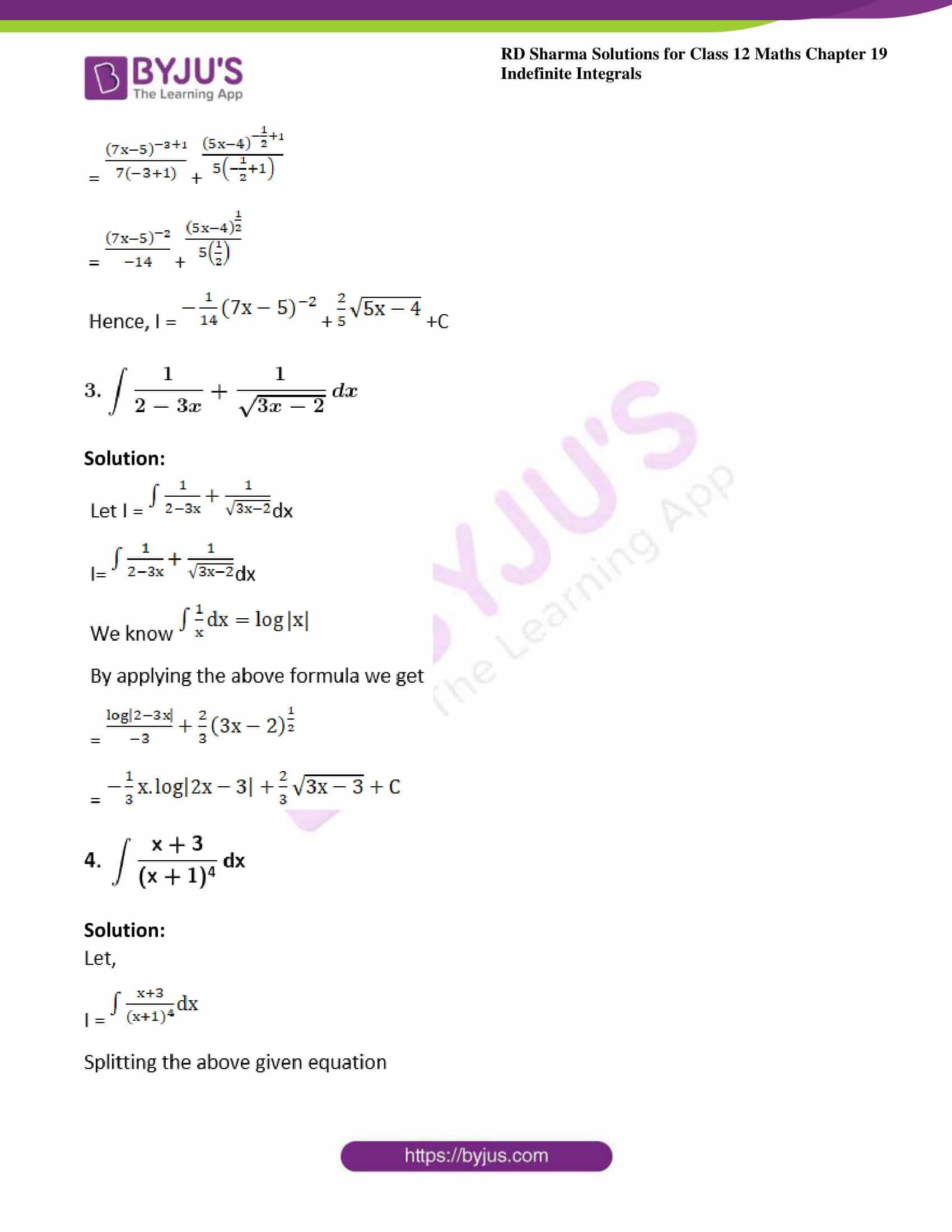rd sharma class 12 maths sol chap 19 ex 3 2