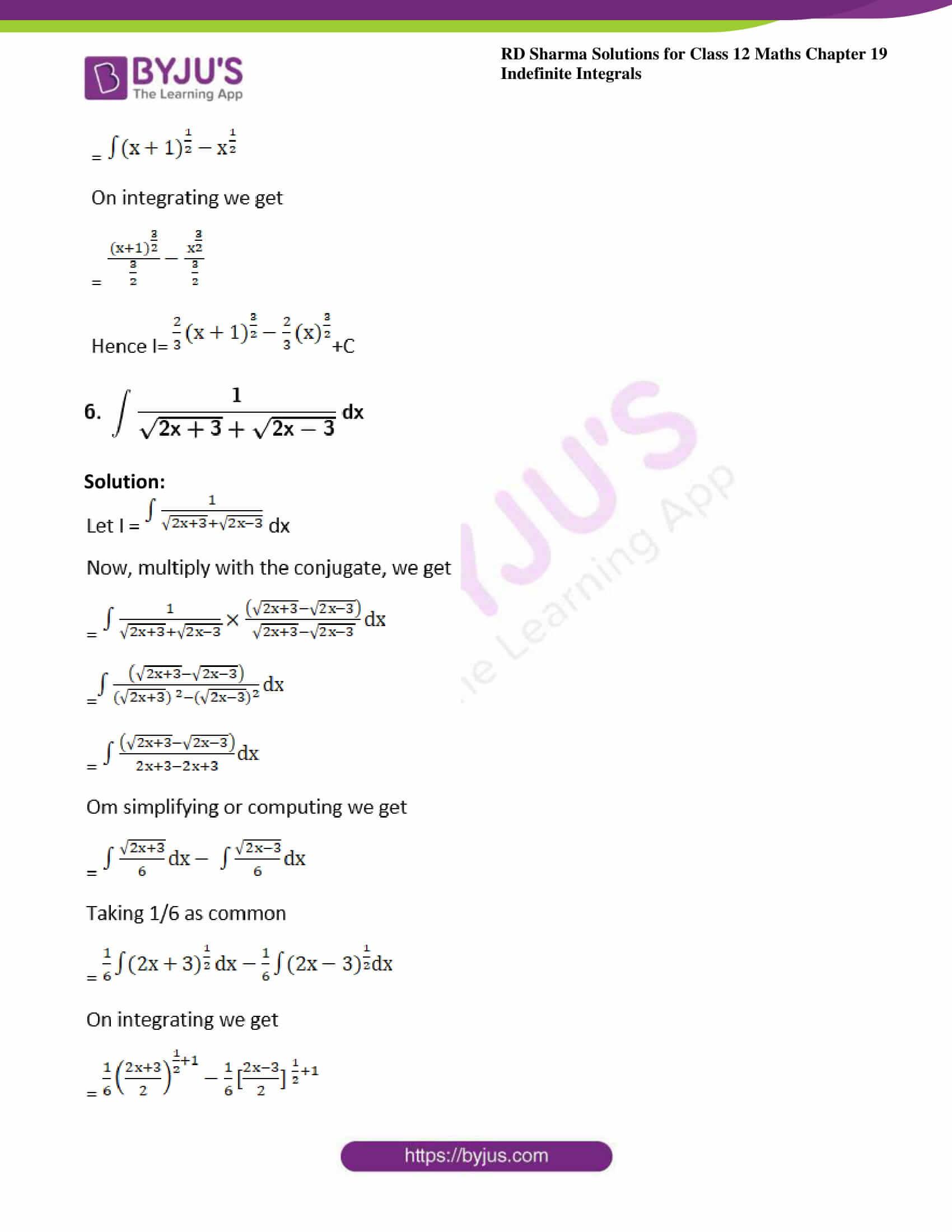 rd sharma class 12 maths sol chap 19 ex 3 4