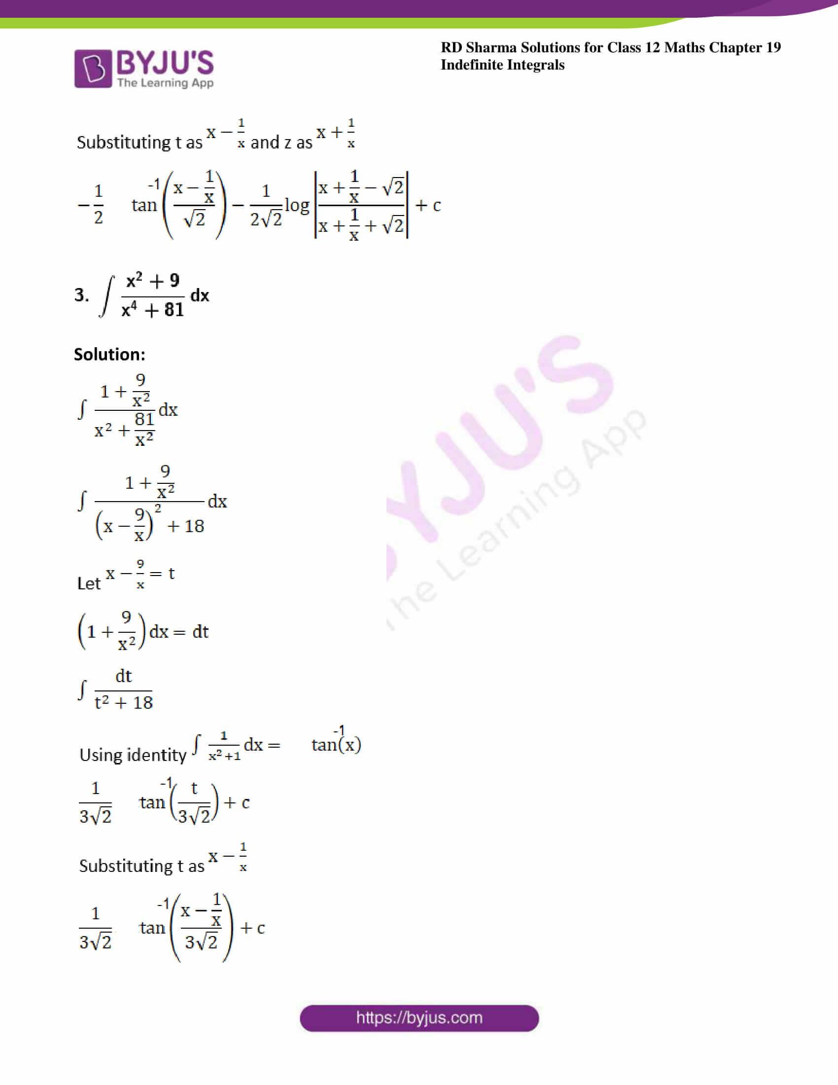rd sharma class 12 maths sol chap 19 ex 31 3