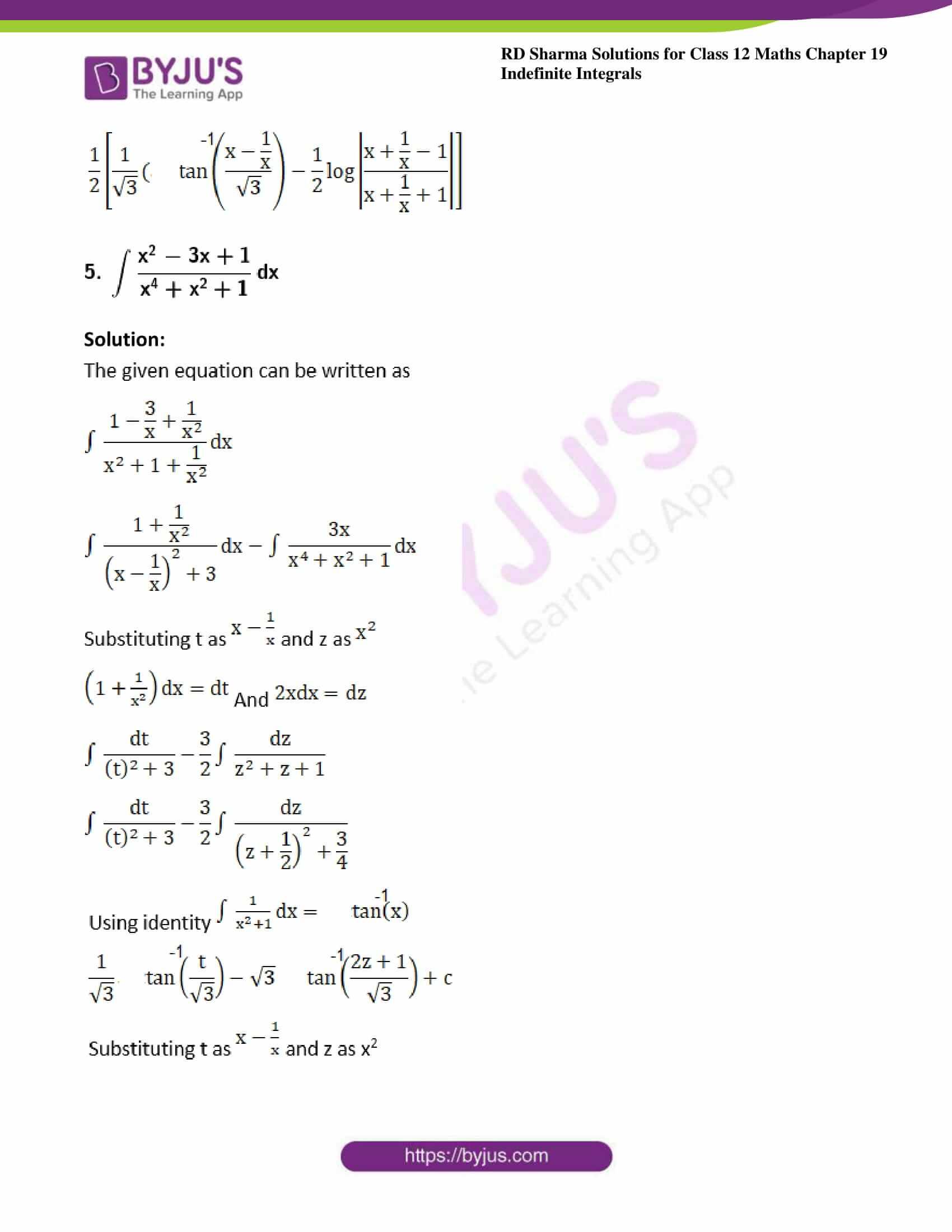 rd sharma class 12 maths sol chap 19 ex 31 5