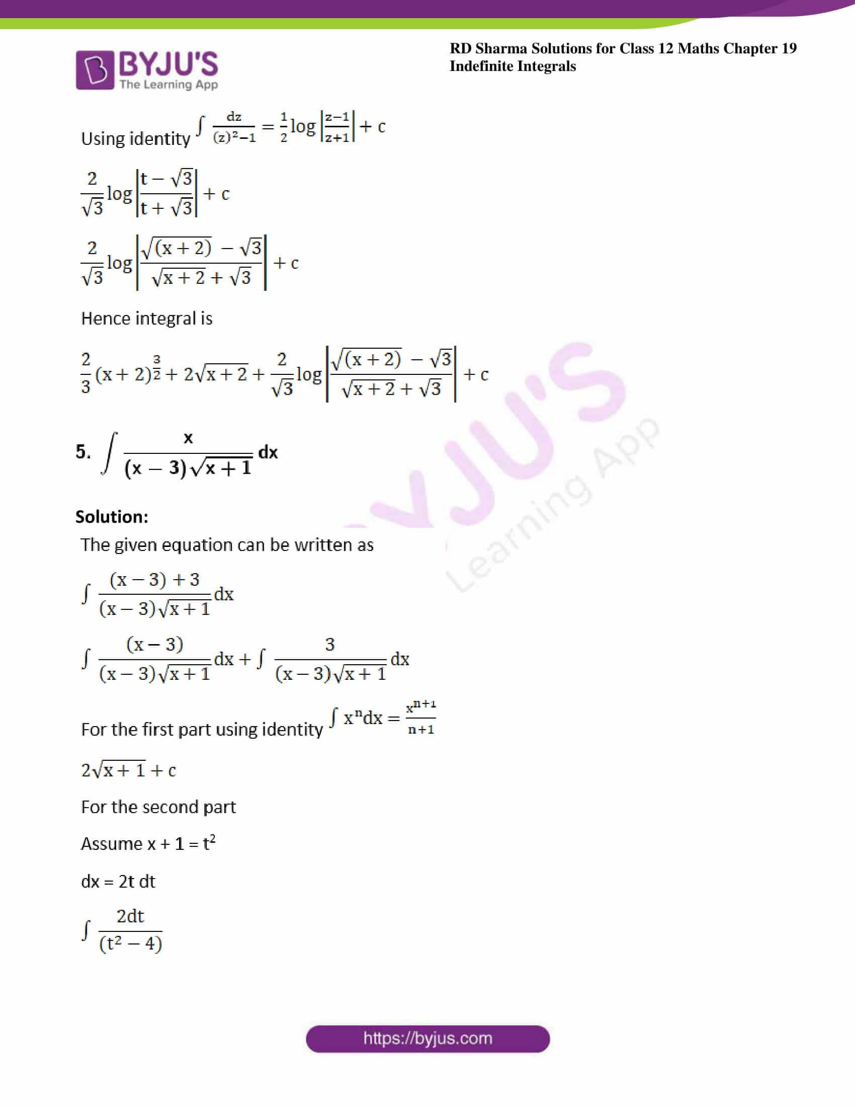 rd sharma class 12 maths sol chap 19 ex 32 4