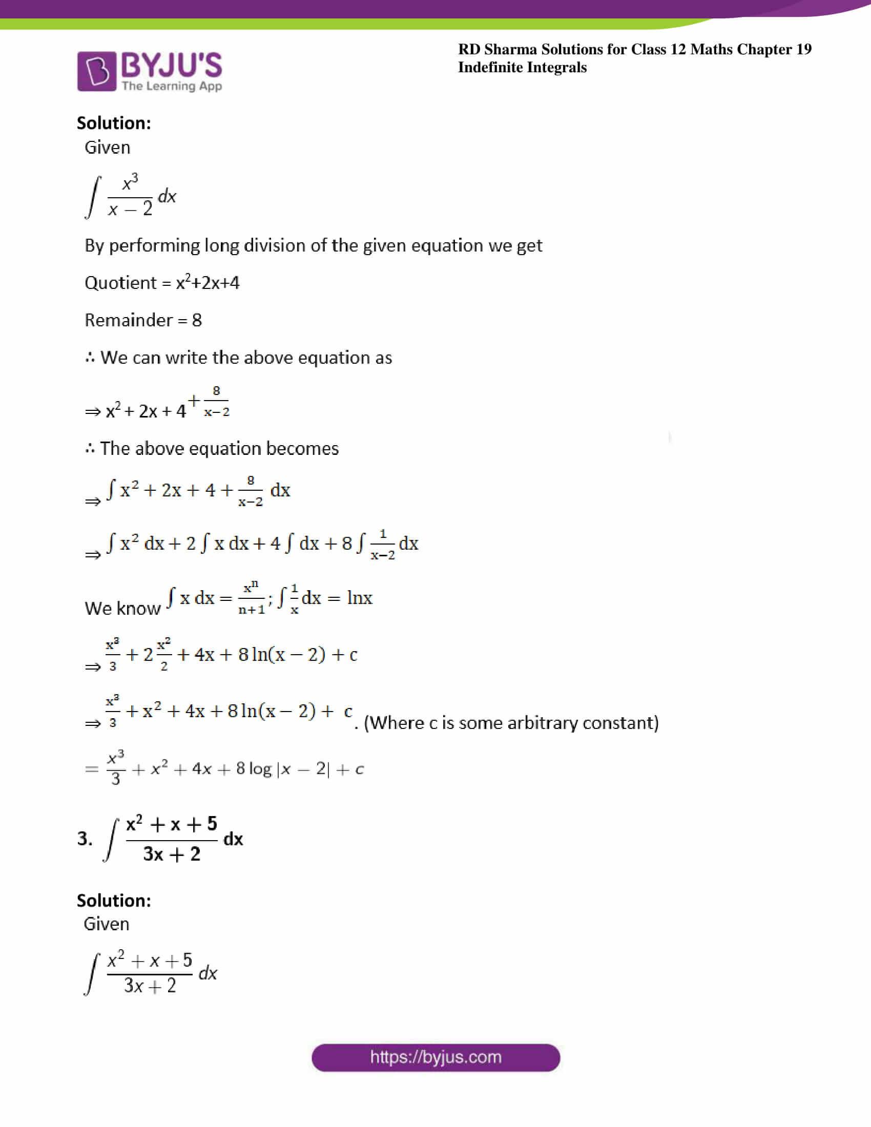 rd sharma class 12 maths sol chap 19 ex 4 2