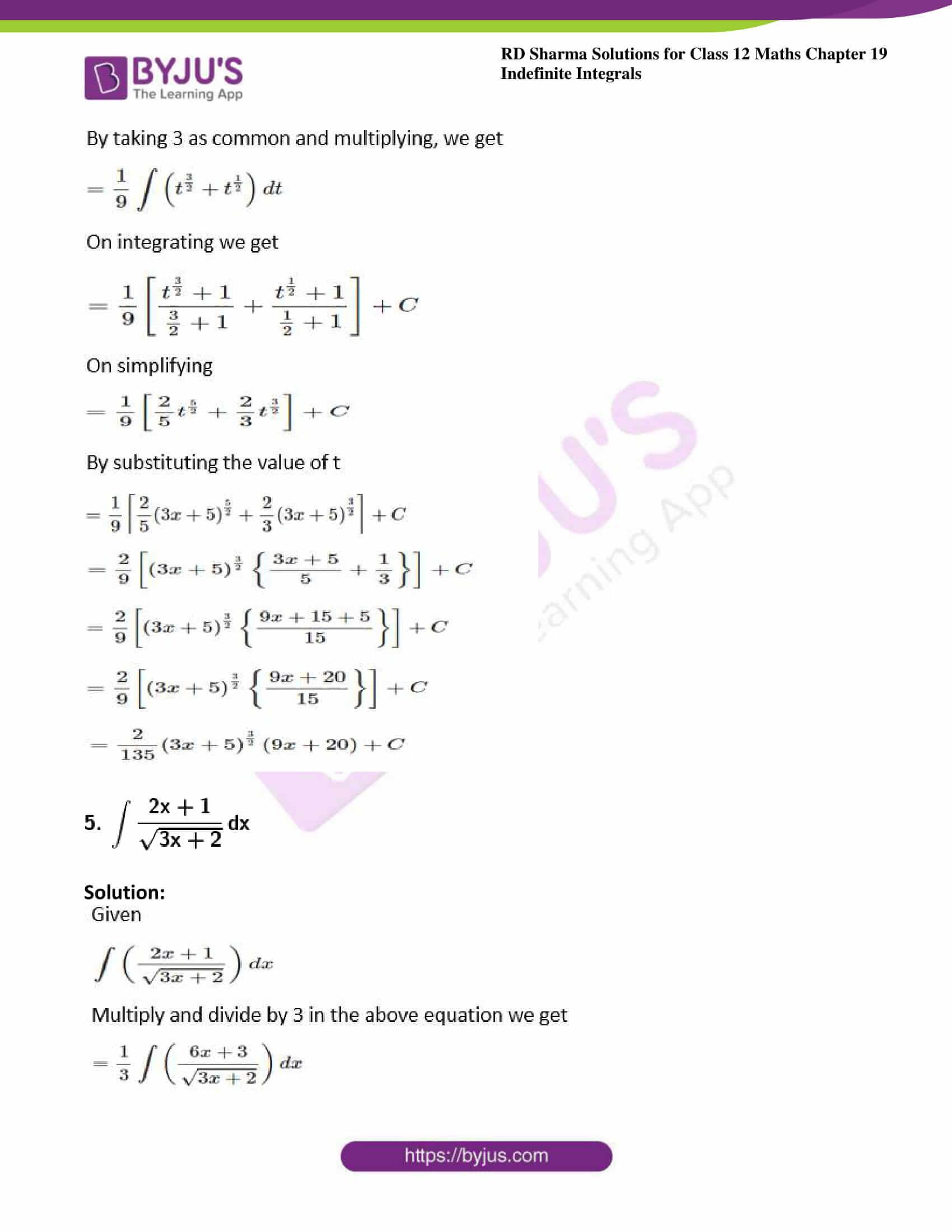 rd sharma class 12 maths sol chap 19 ex 5 4
