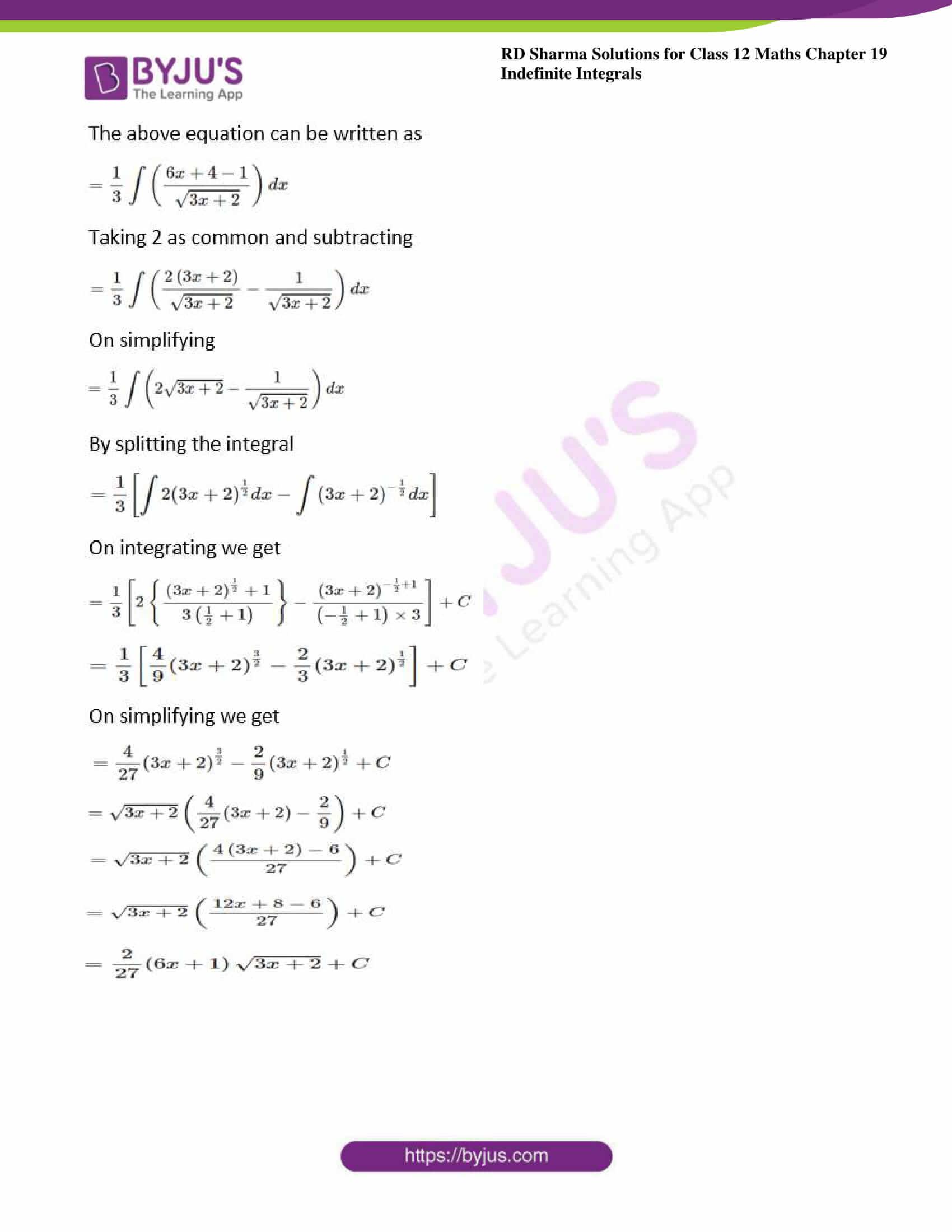 rd sharma class 12 maths sol chap 19 ex 5 5