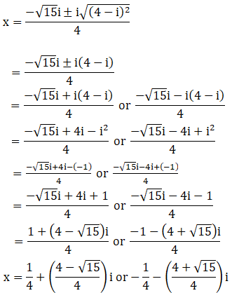 RD Sharma Solutions for Class 11 Maths Chapter 14 – Quadratic Equations image - 10