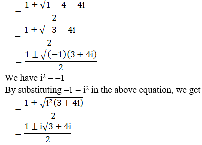 RD Sharma Solutions for Class 11 Maths Chapter 14 – Quadratic Equations image - 12
