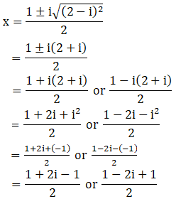 RD Sharma Solutions for Class 11 Maths Chapter 14 – Quadratic Equations image - 13