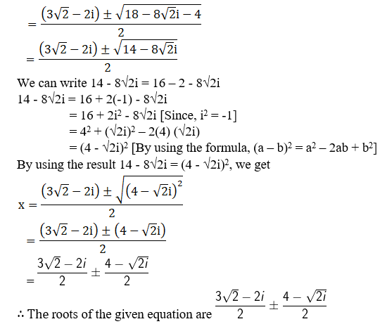 RD Sharma Solutions for Class 11 Maths Chapter 14 – Quadratic Equations image - 15