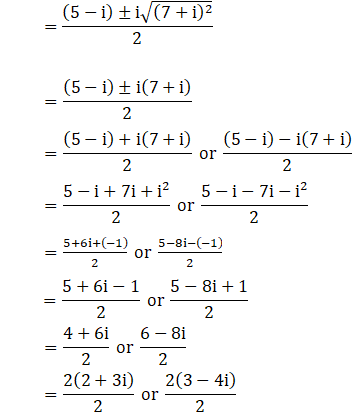 RD Sharma Solutions for Class 11 Maths Chapter 14 – Quadratic Equations image - 2