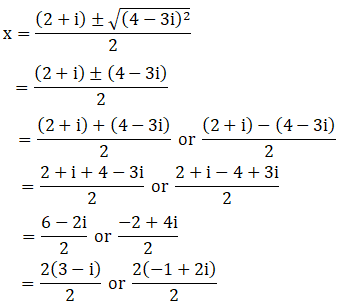 RD Sharma Solutions for Class 11 Maths Chapter 14 – Quadratic Equations image - 8