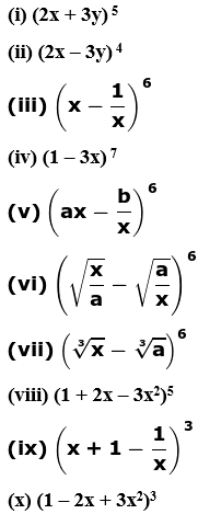 RD Sharma Solutions for Class 11 Maths Chapter 18 – Binomial Theorem image - 1