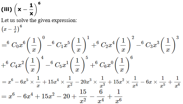 RD Sharma Solutions for Class 11 Maths Chapter 18 – Binomial Theorem image - 2