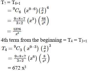 RD Sharma Solutions for Class 11 Maths Chapter 18 – Binomial Theorem image - 22