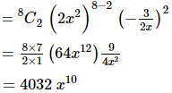 RD Sharma Solutions for Class 11 Maths Chapter 18 – Binomial Theorem image - 24