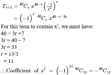 RD Sharma Solutions for Class 11 Maths Chapter 18 – Binomial Theorem image - 26